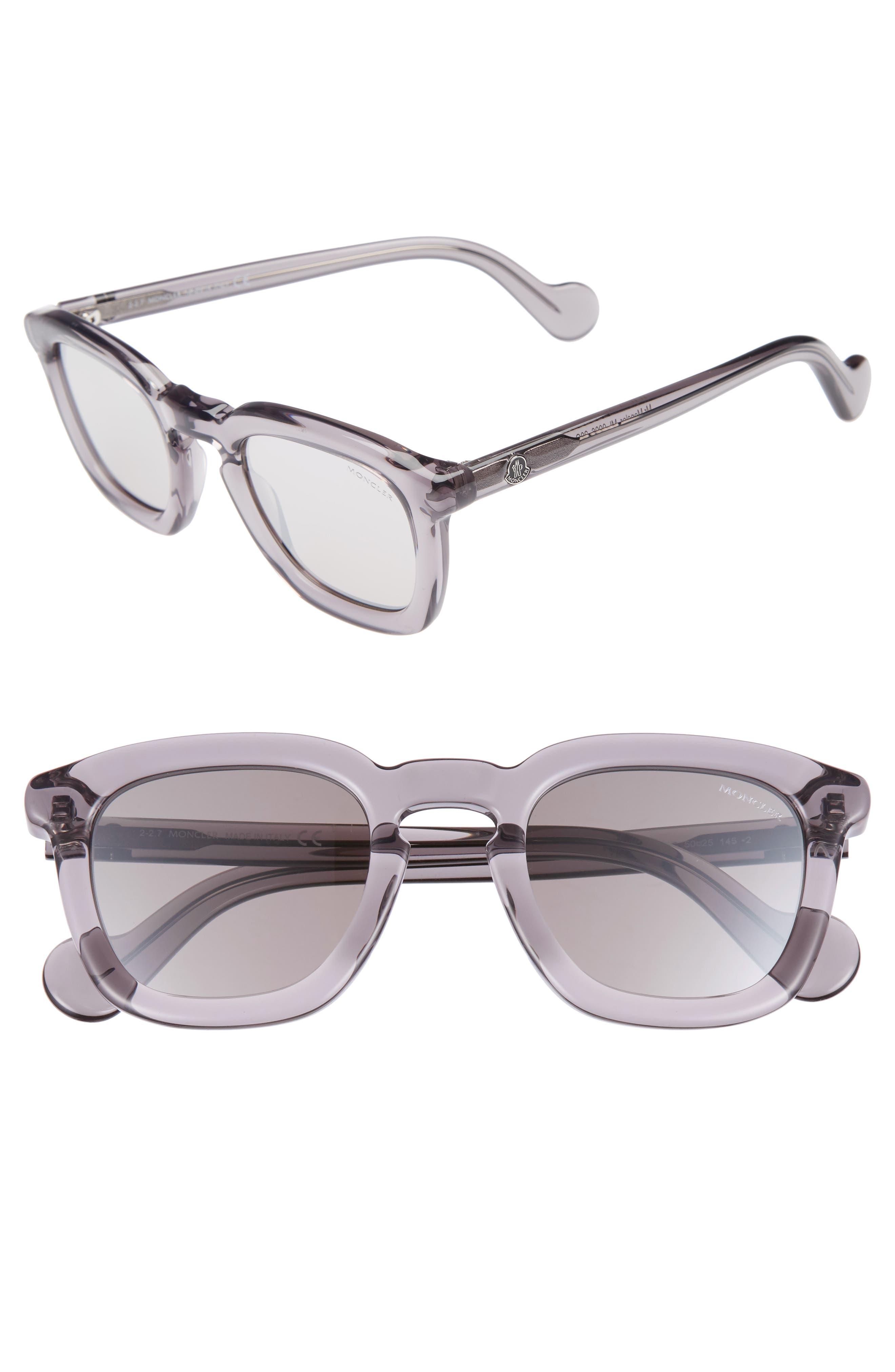50mm Square Sunglasses,                             Main thumbnail 2, color,