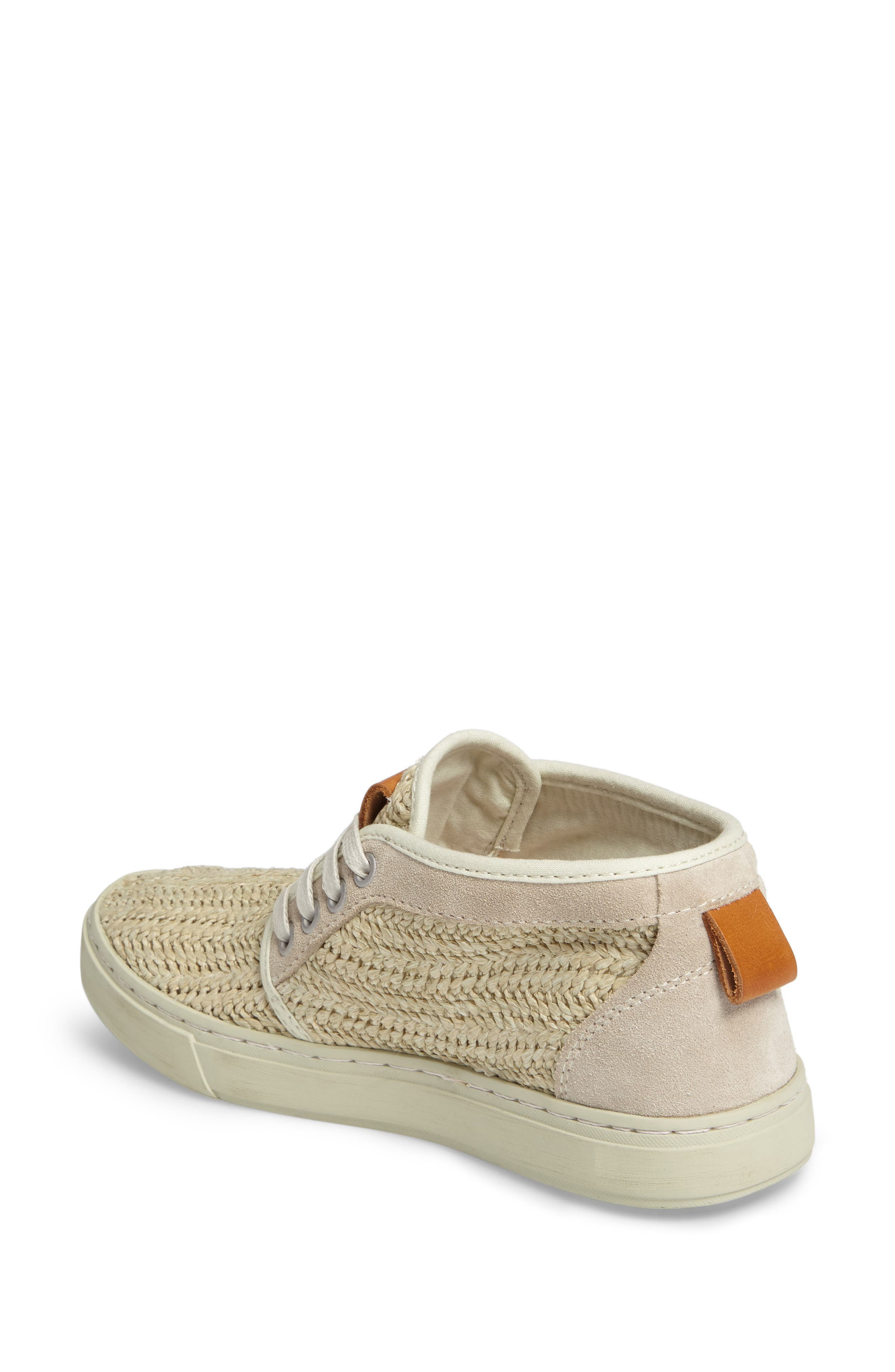 Hamoru Woven High Top Sneaker,                             Alternate thumbnail 2, color,                             YESO FABRIC