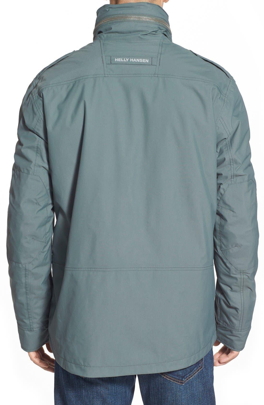 HellyHansen 'Universal' MotoRain Jacket,                             Alternate thumbnail 7, color,                             080