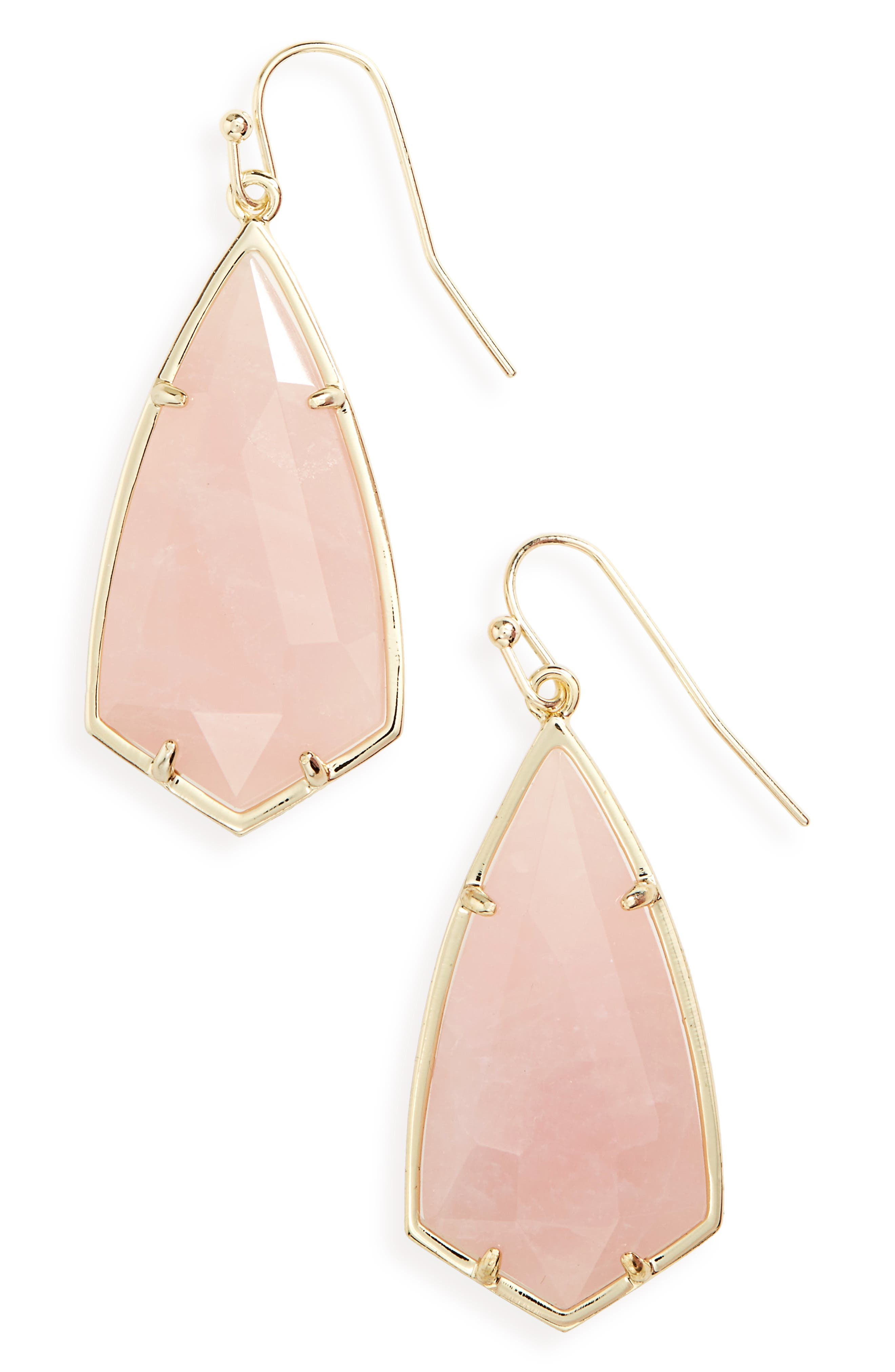 Carla Semiprecious Stone Drop Earrings,                             Main thumbnail 10, color,