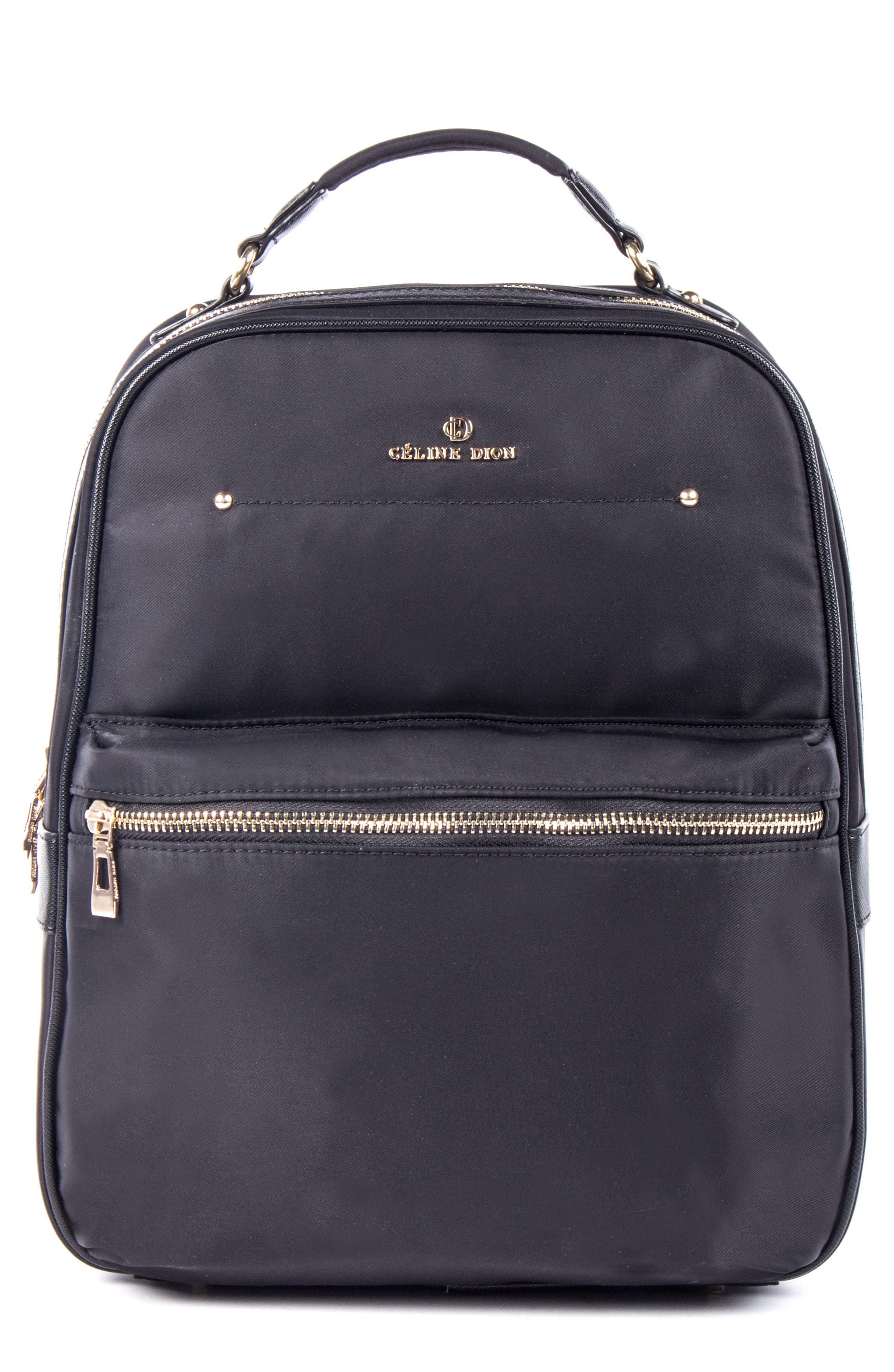 Céline Dion Presto Nylon Backpack,                             Main thumbnail 1, color,