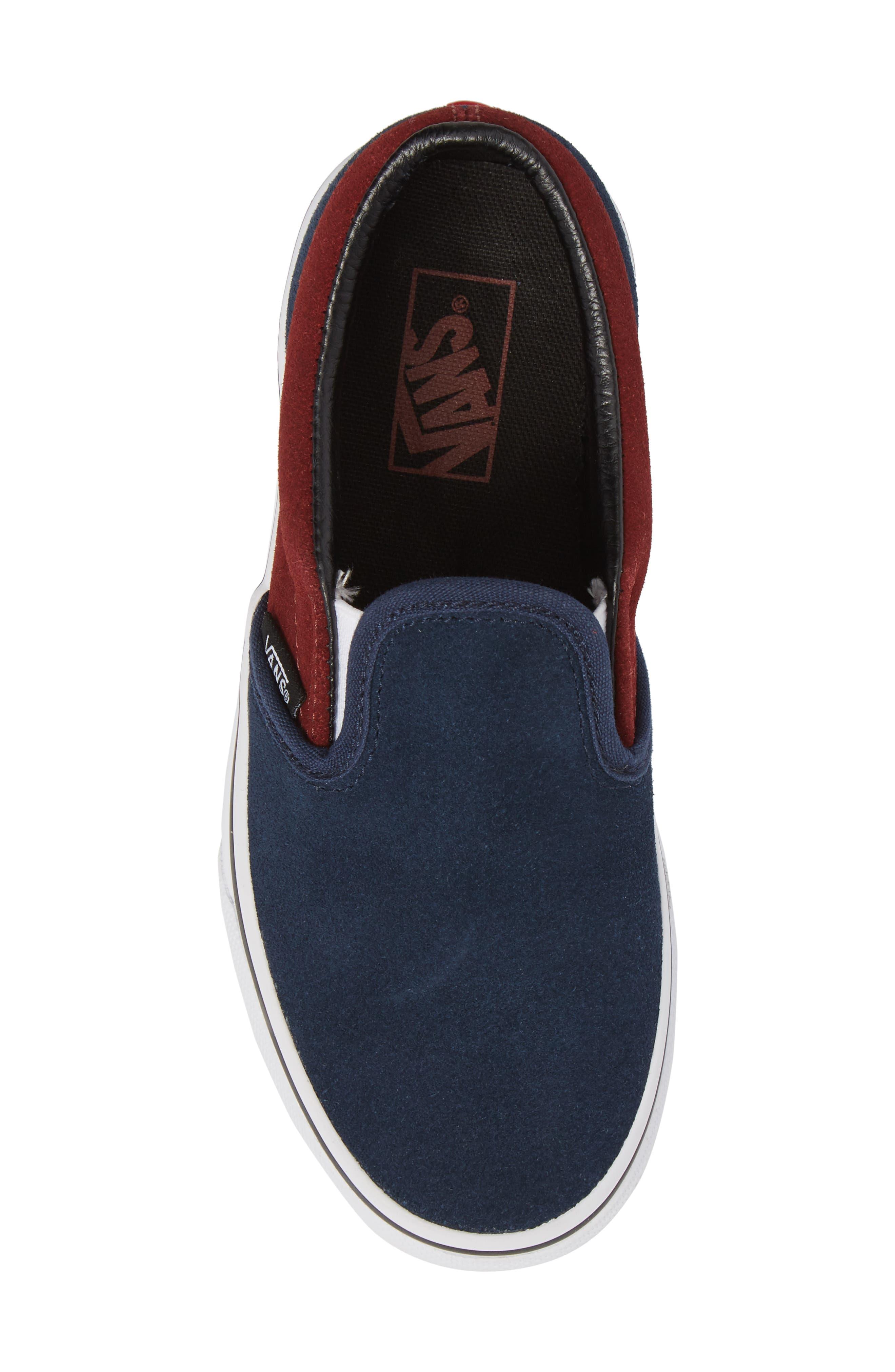 Classic Slip-On Sneaker,                             Alternate thumbnail 5, color,                             401