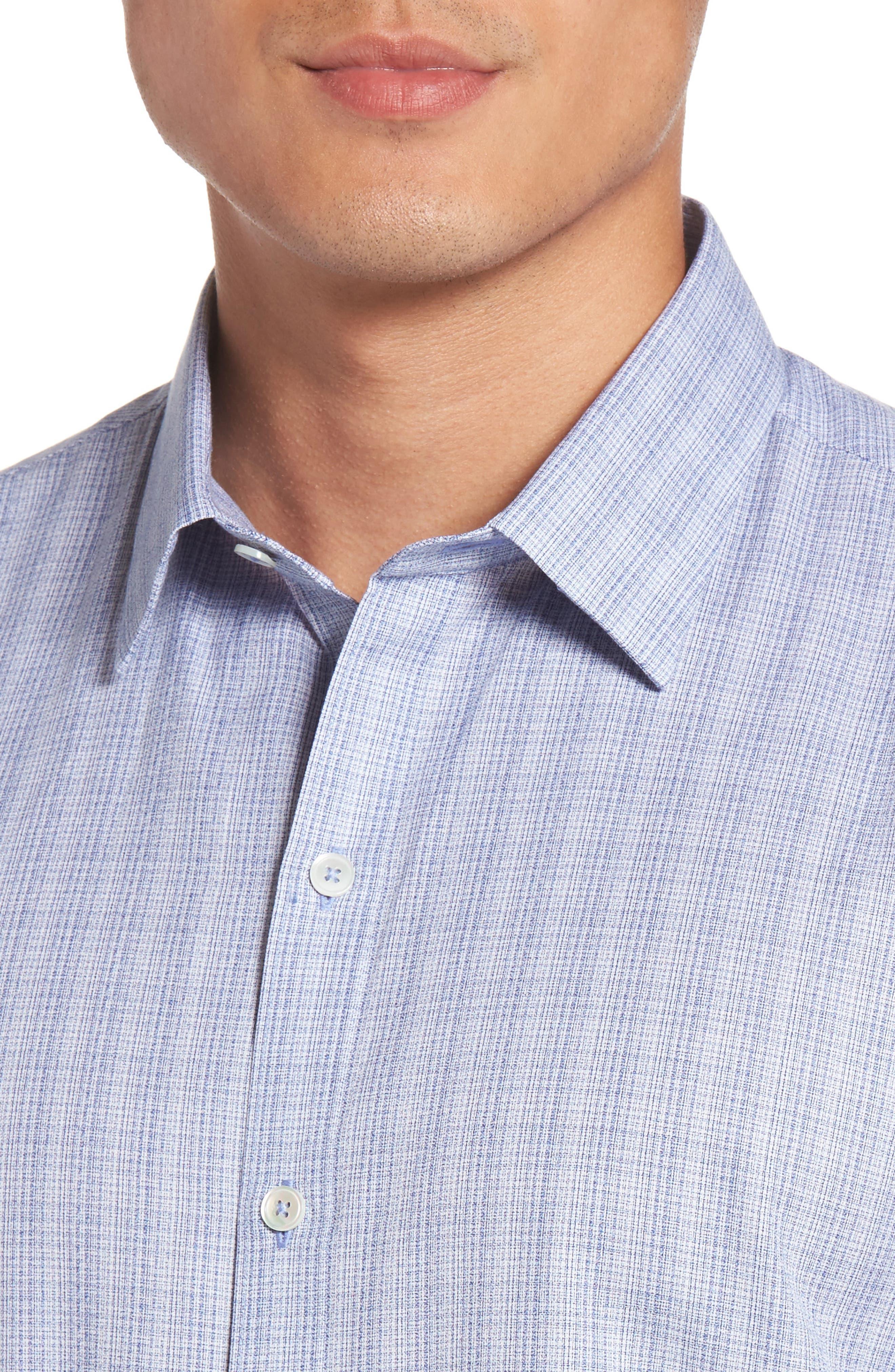 Zimmerman Check Sport Shirt,                             Alternate thumbnail 4, color,                             400