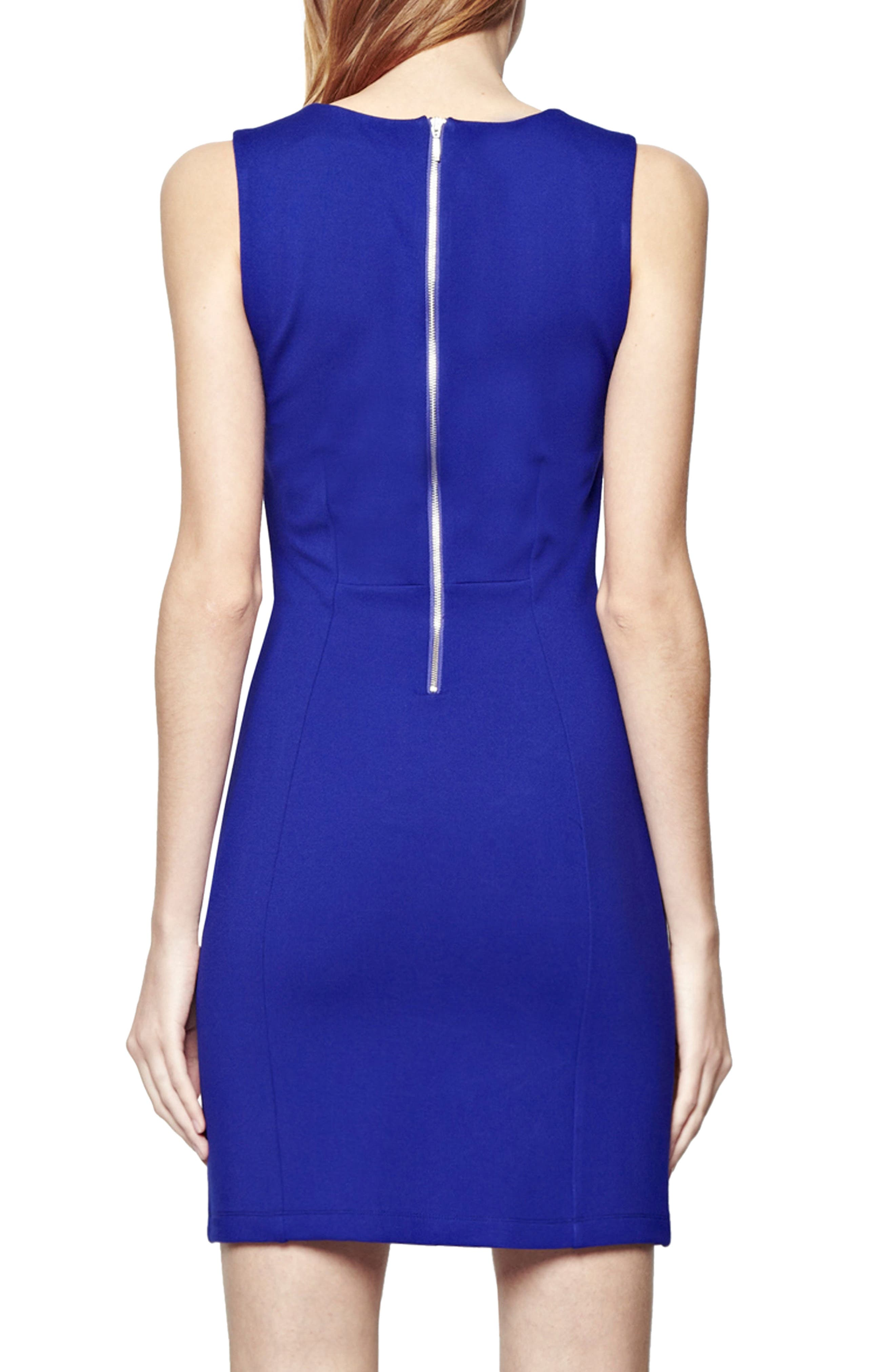 'Lula' Stretch Body-Con Dress,                             Alternate thumbnail 2, color,                             420