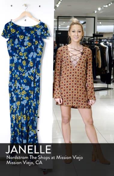 Daphne Floral Print Dress, sales video thumbnail
