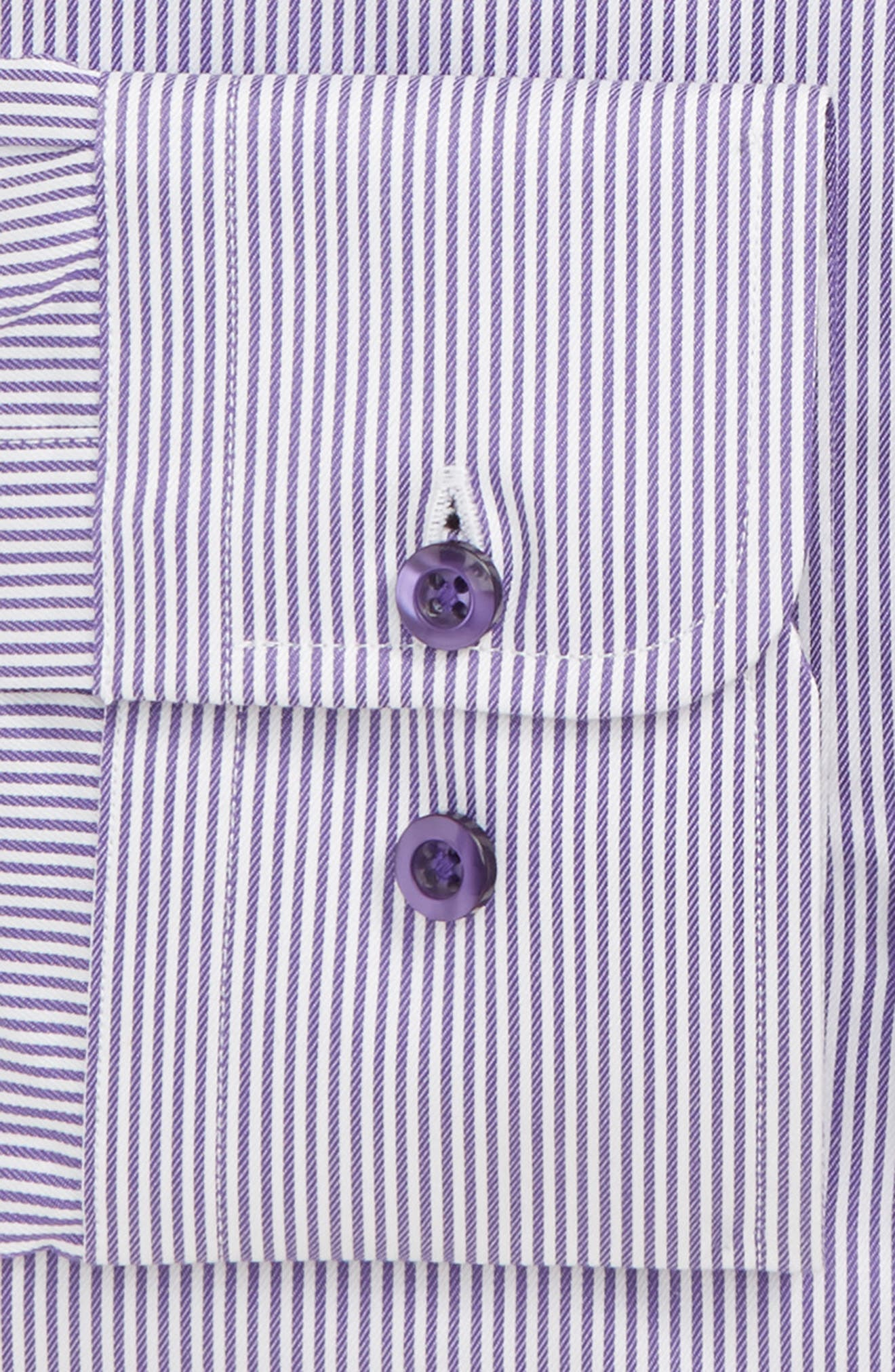 Regular Fit Stripe Dress Shirt,                             Alternate thumbnail 2, color,                             500