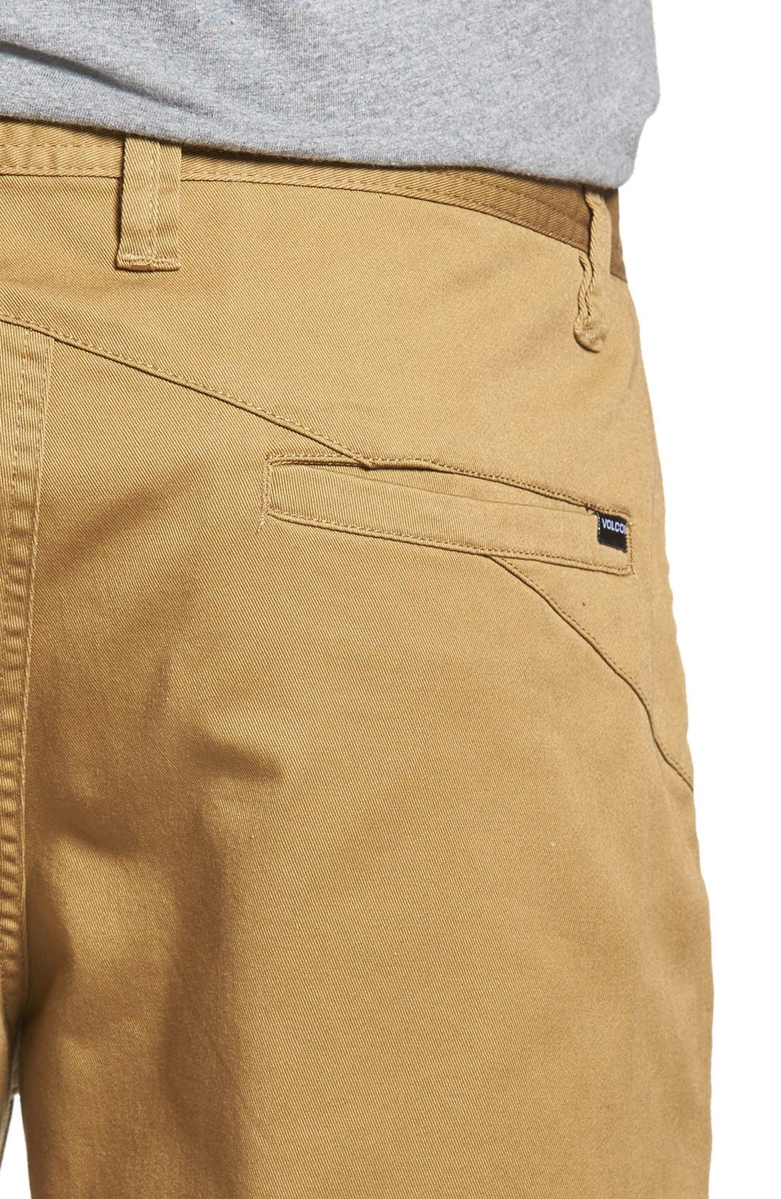 'Modern' Stretch Chino Shorts,                             Alternate thumbnail 41, color,