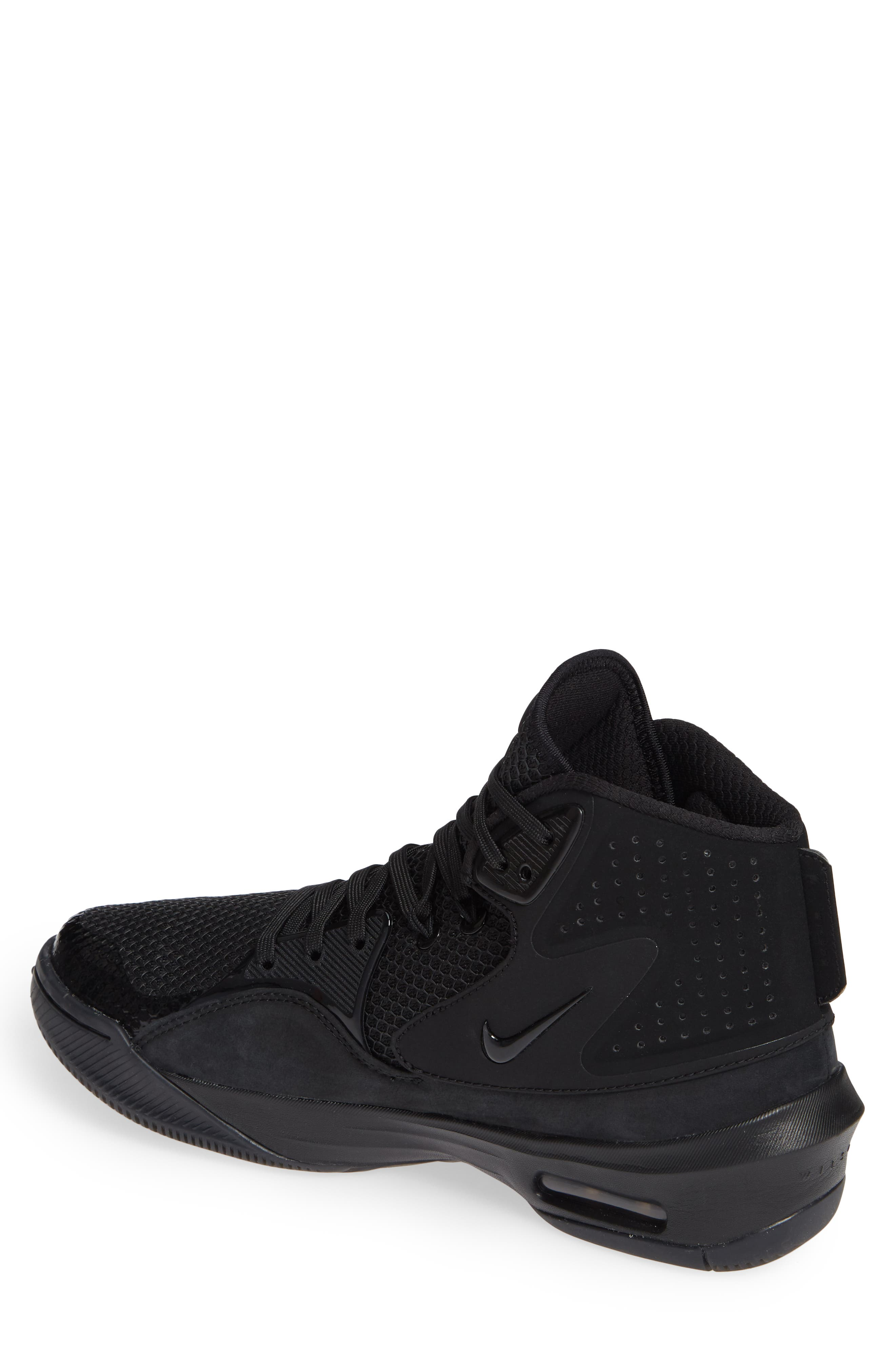 Dangeruss Wilson 1 Sneaker,                             Alternate thumbnail 2, color,                             BLACK/ METALLIC GOLD