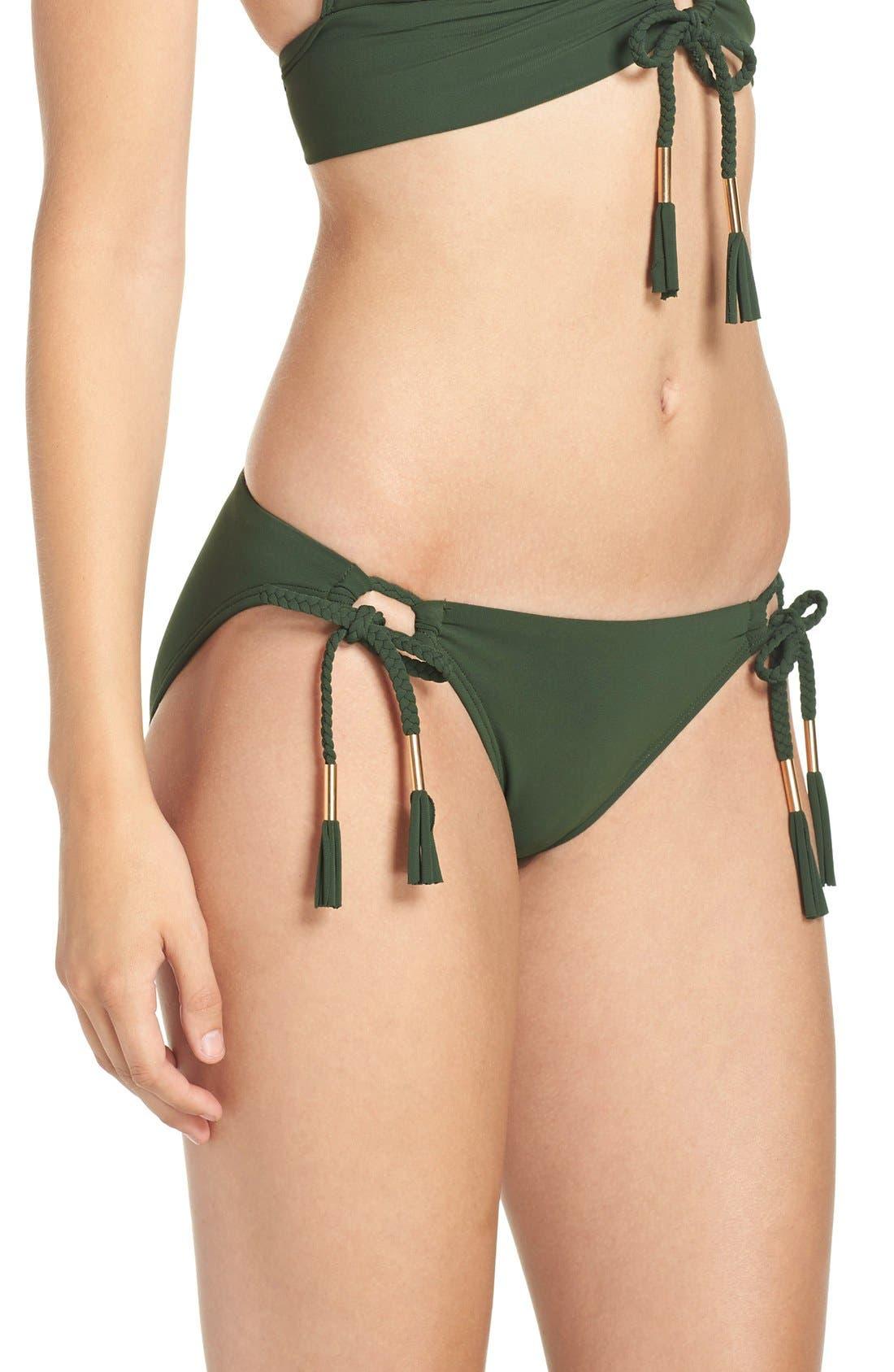 Side Tie Bikini Bottoms,                             Alternate thumbnail 19, color,