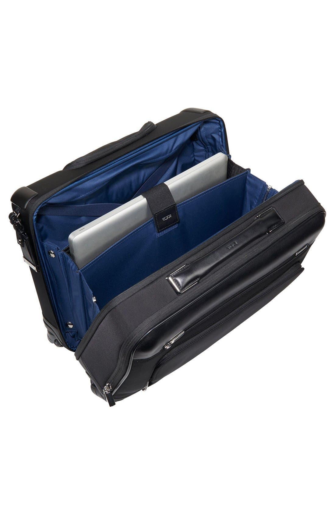 TUMI,                             McAllen Wheeled Briefcase,                             Alternate thumbnail 4, color,                             001