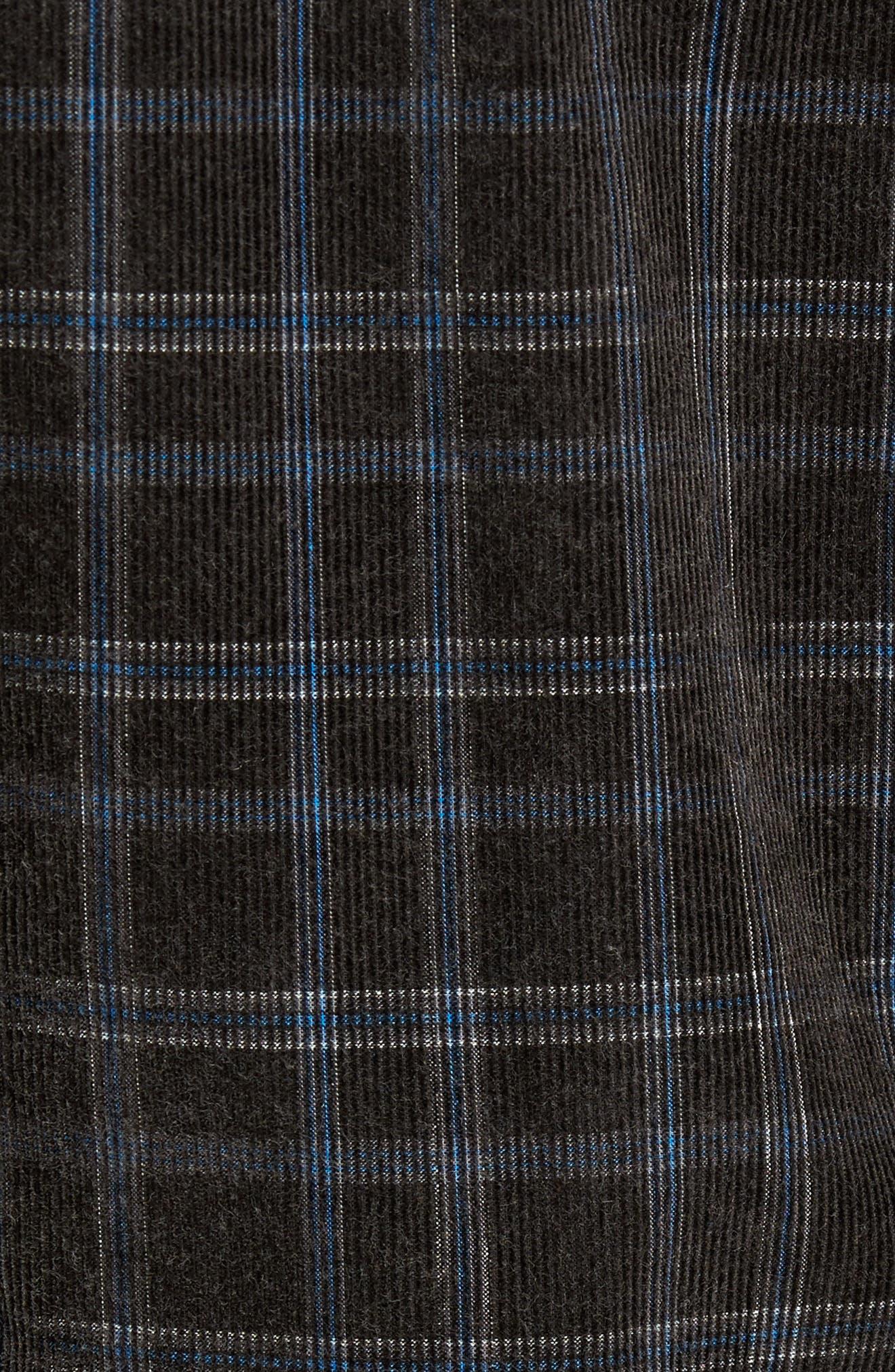 Bradley Corduroy Shirt,                             Alternate thumbnail 5, color,                             001