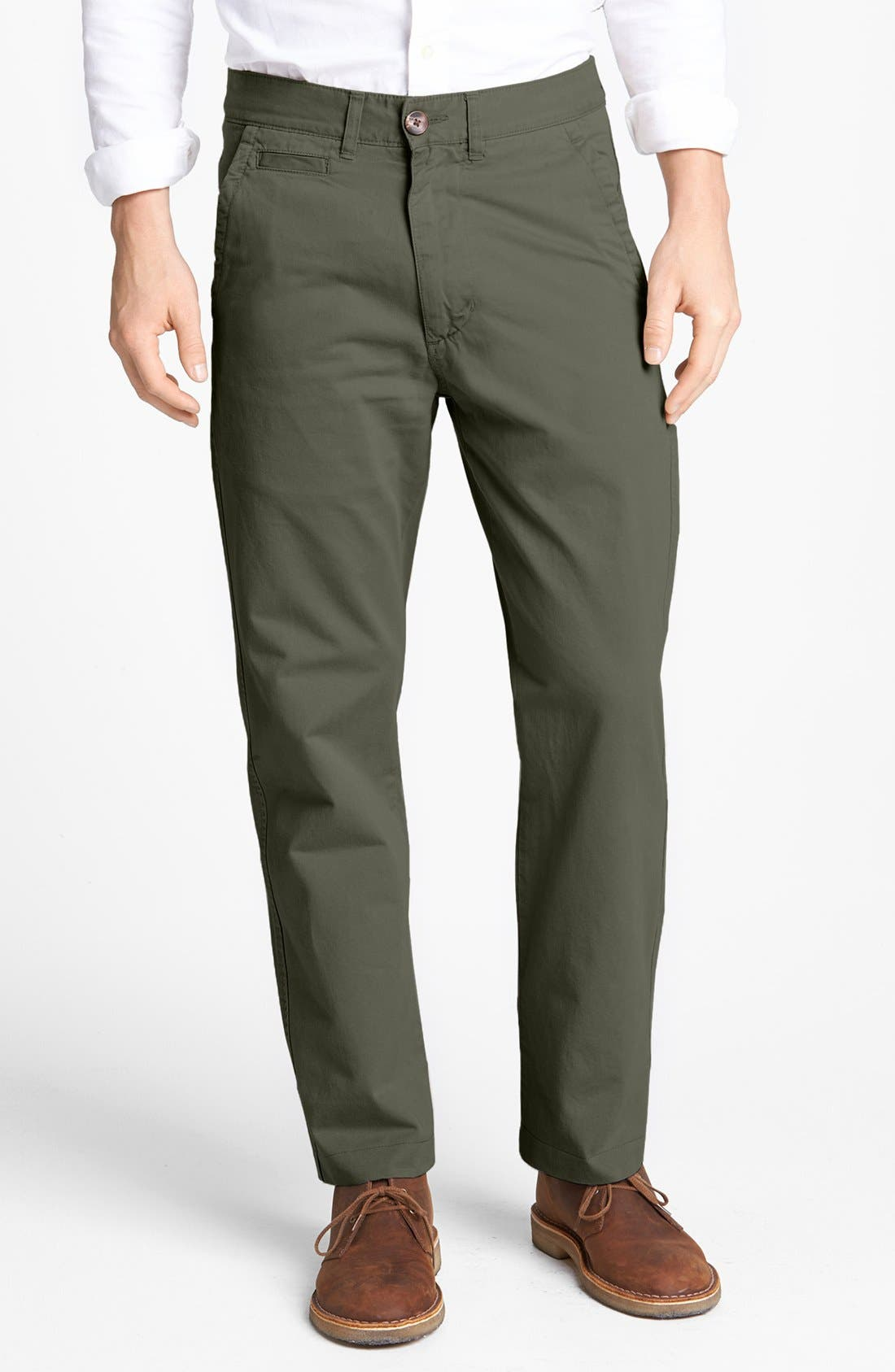 'Sahara' Trim Fit Vintage Washed Twill Chinos,                             Main thumbnail 5, color,