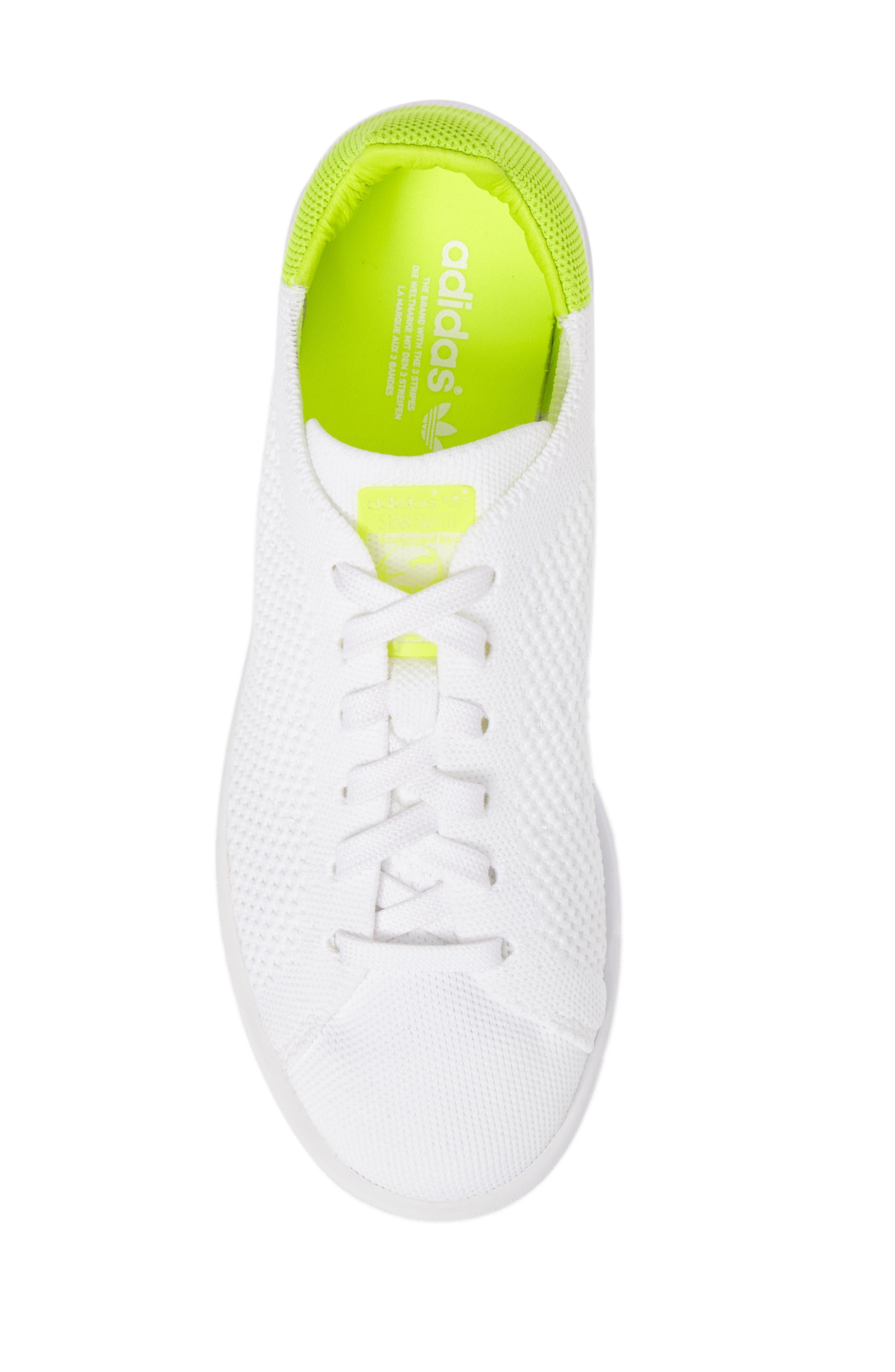 Stan Smith - Primeknit Sneaker,                             Alternate thumbnail 5, color,