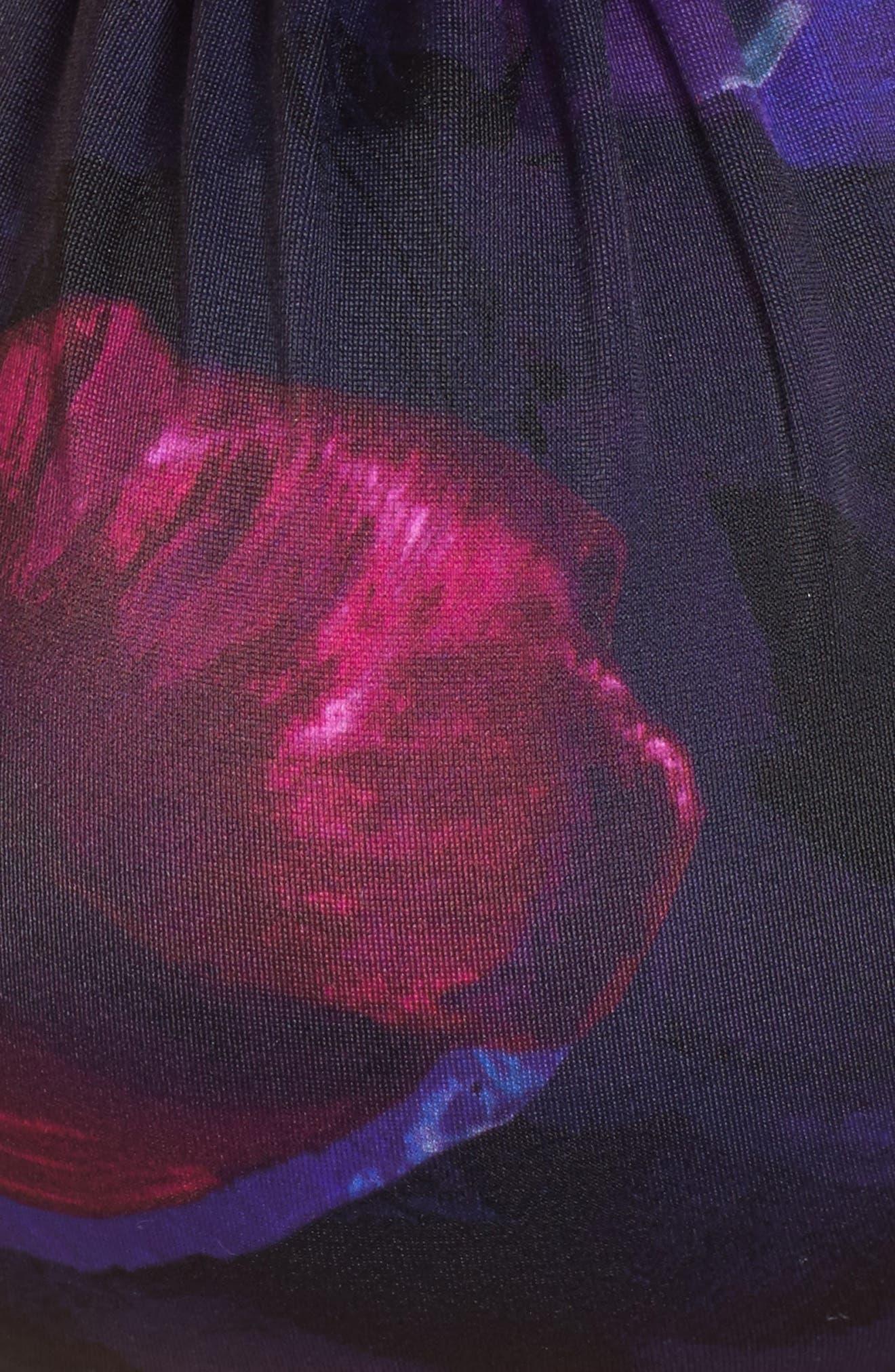 Imassa Impressionist Strapless Bikini Top,                             Alternate thumbnail 5, color,                             001