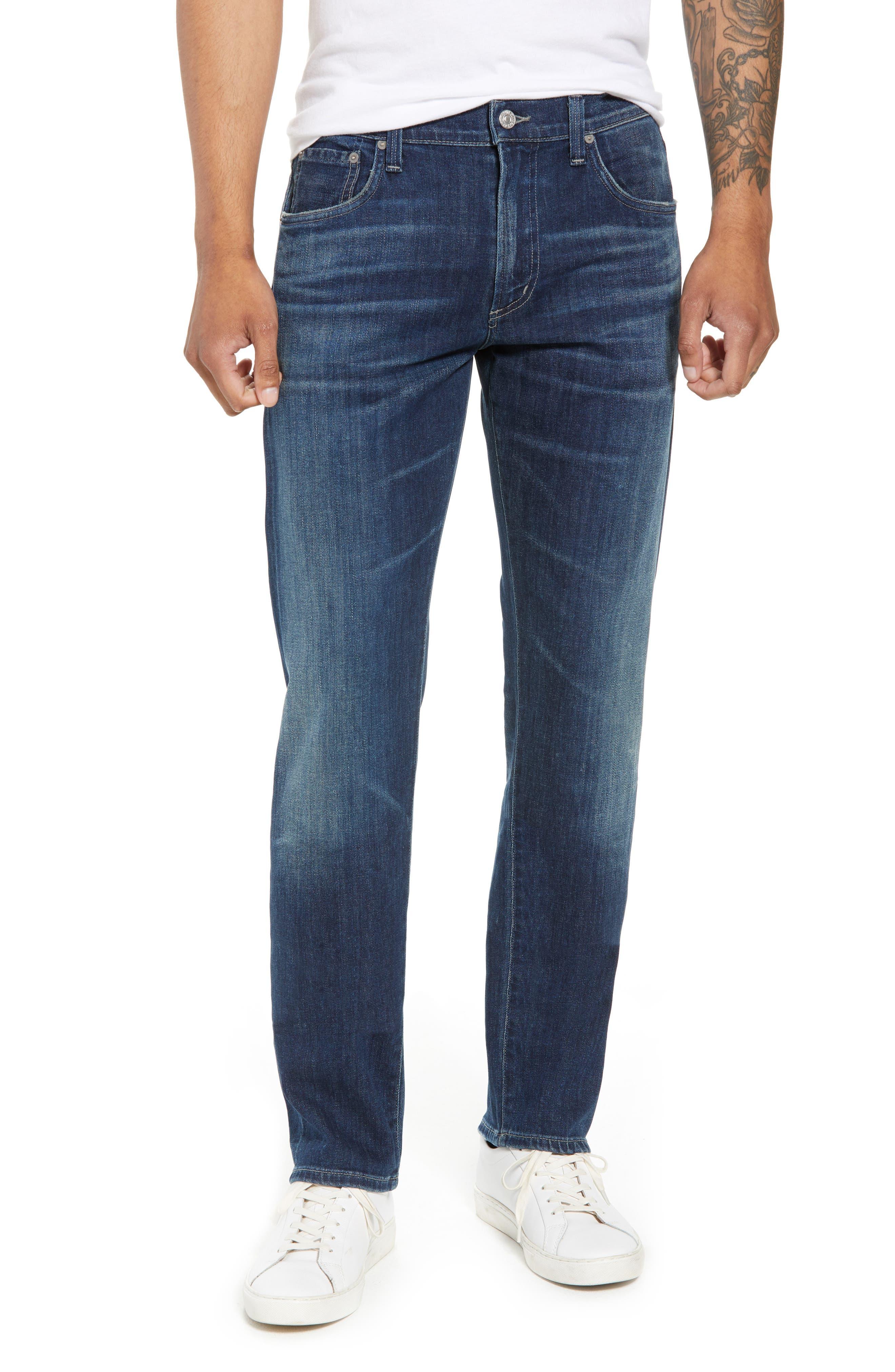 Core Slim Fit Jeans,                         Main,                         color, ARENA
