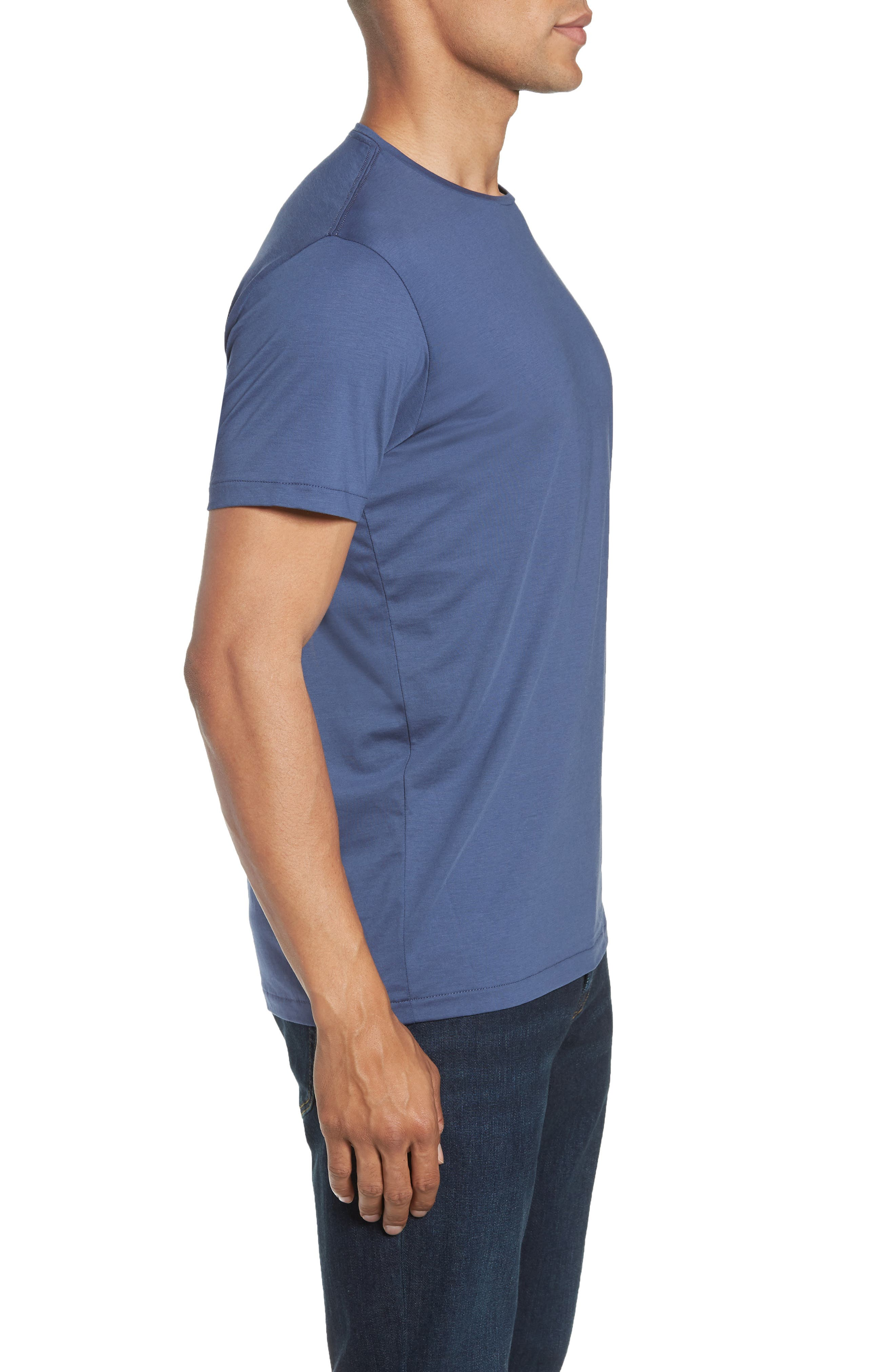 Refined T-Shirt,                             Alternate thumbnail 3, color,                             OLD BAY
