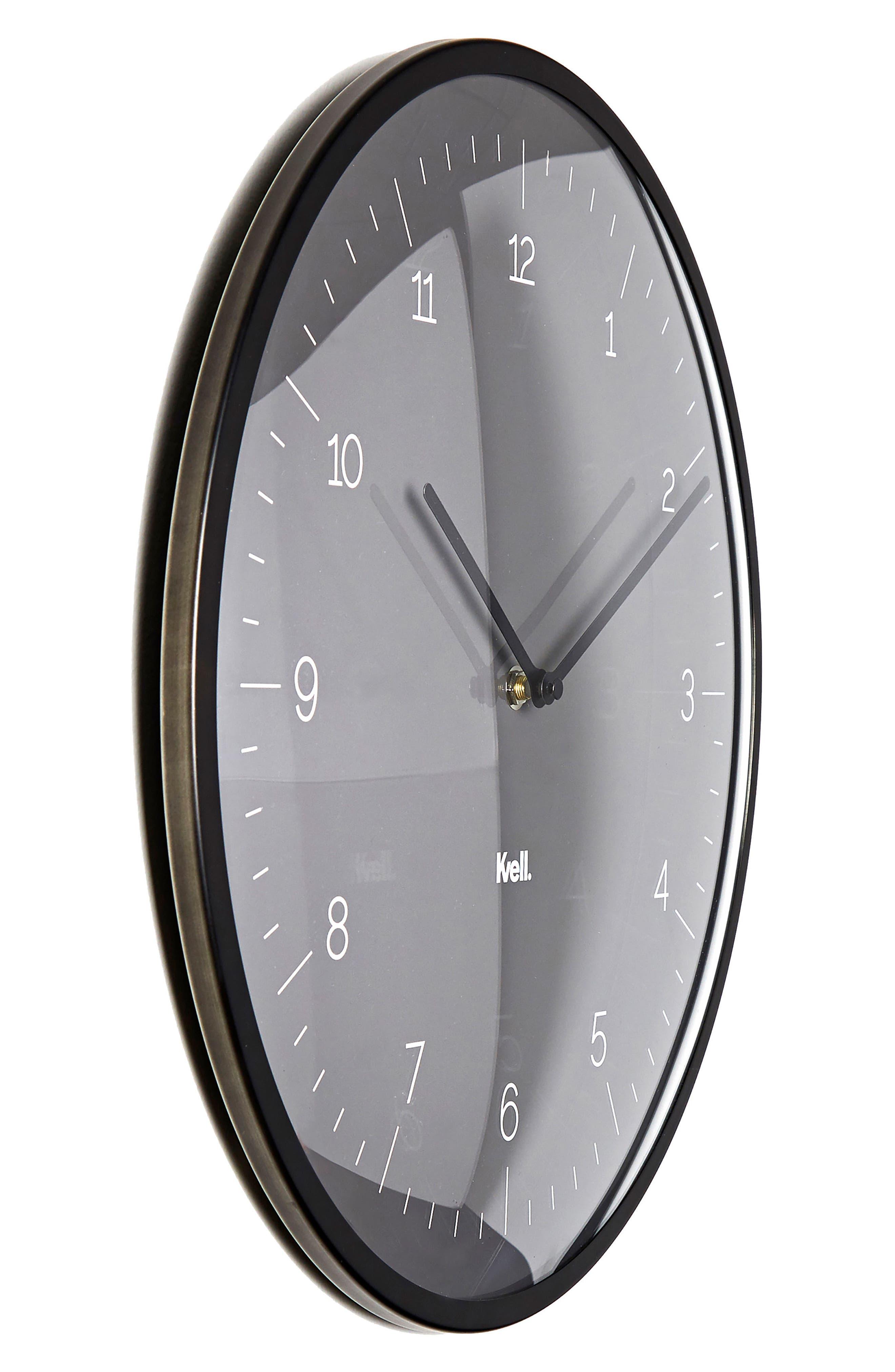 KVELL,                             Domo Wall Clock,                             Alternate thumbnail 2, color,                             020