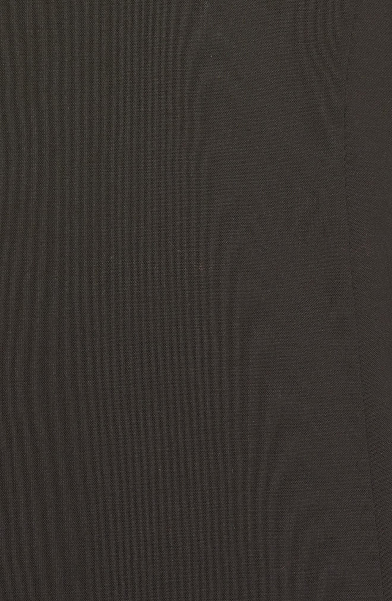 Akasa Blazer Dress,                             Alternate thumbnail 6, color,                             BLACK