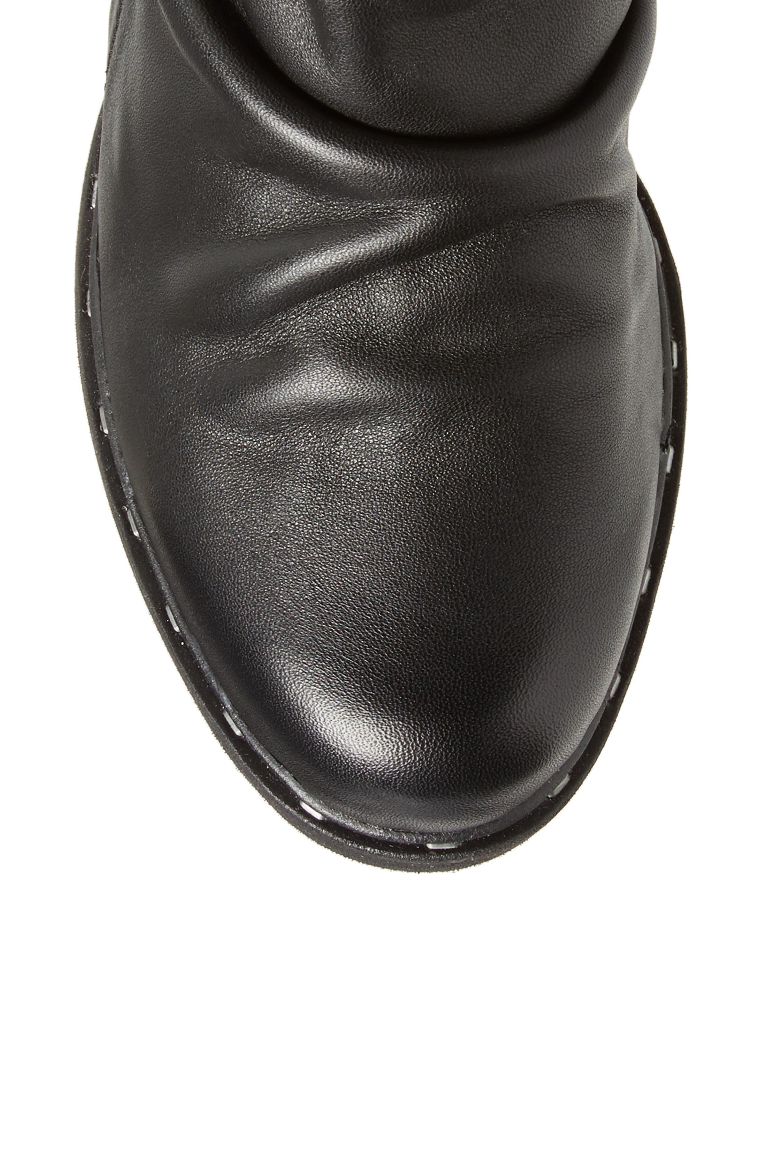 Gambol Boot,                             Alternate thumbnail 5, color,                             BLACK LEATHER
