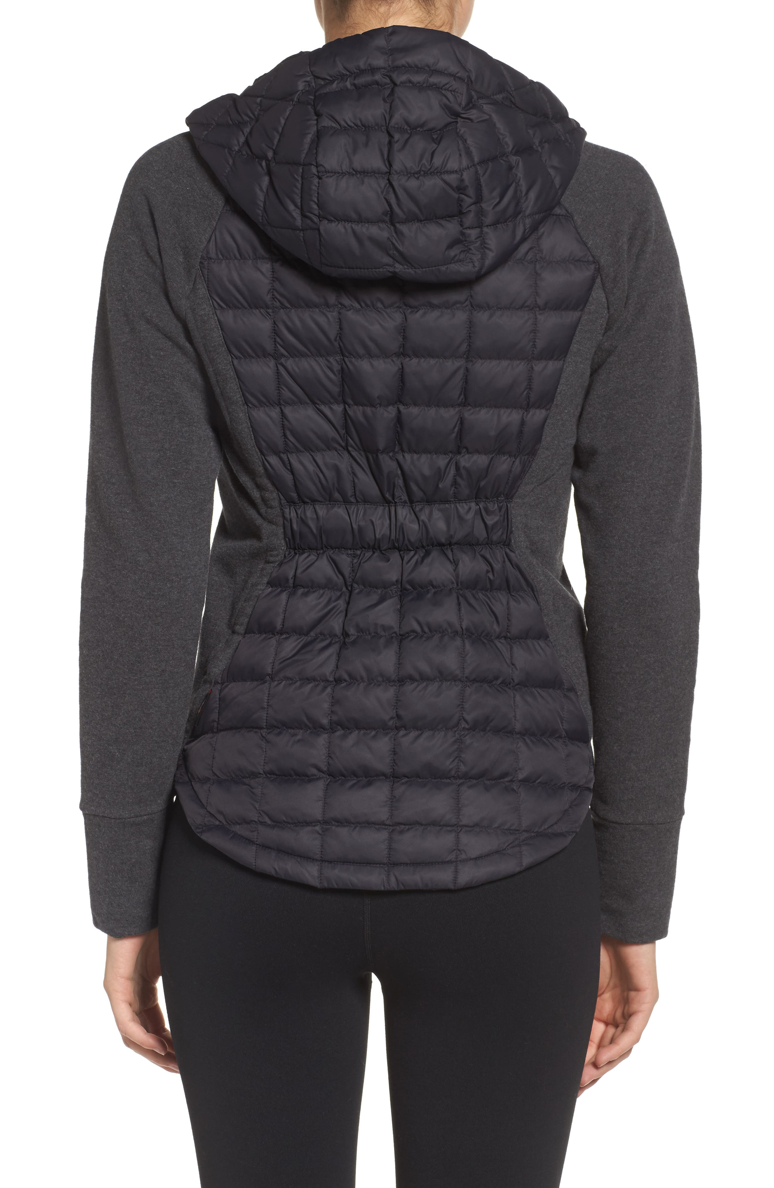'Endeavor' ThermoBall PrimaLoft<sup>®</sup> Quilted Jacket,                             Alternate thumbnail 3, color,                             001