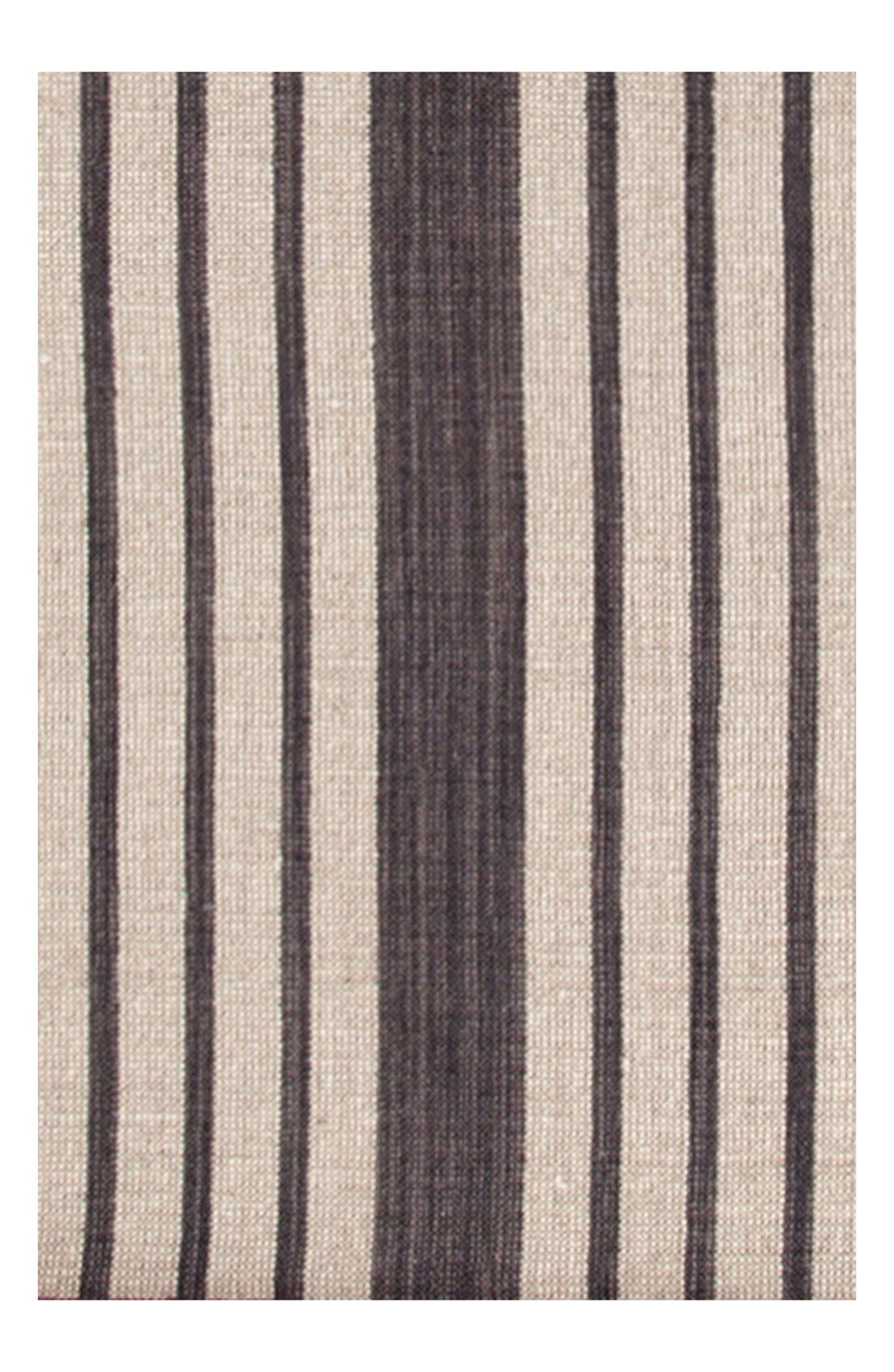 'Lenox' Stripe Rug,                             Main thumbnail 1, color,                             CHARCOAL