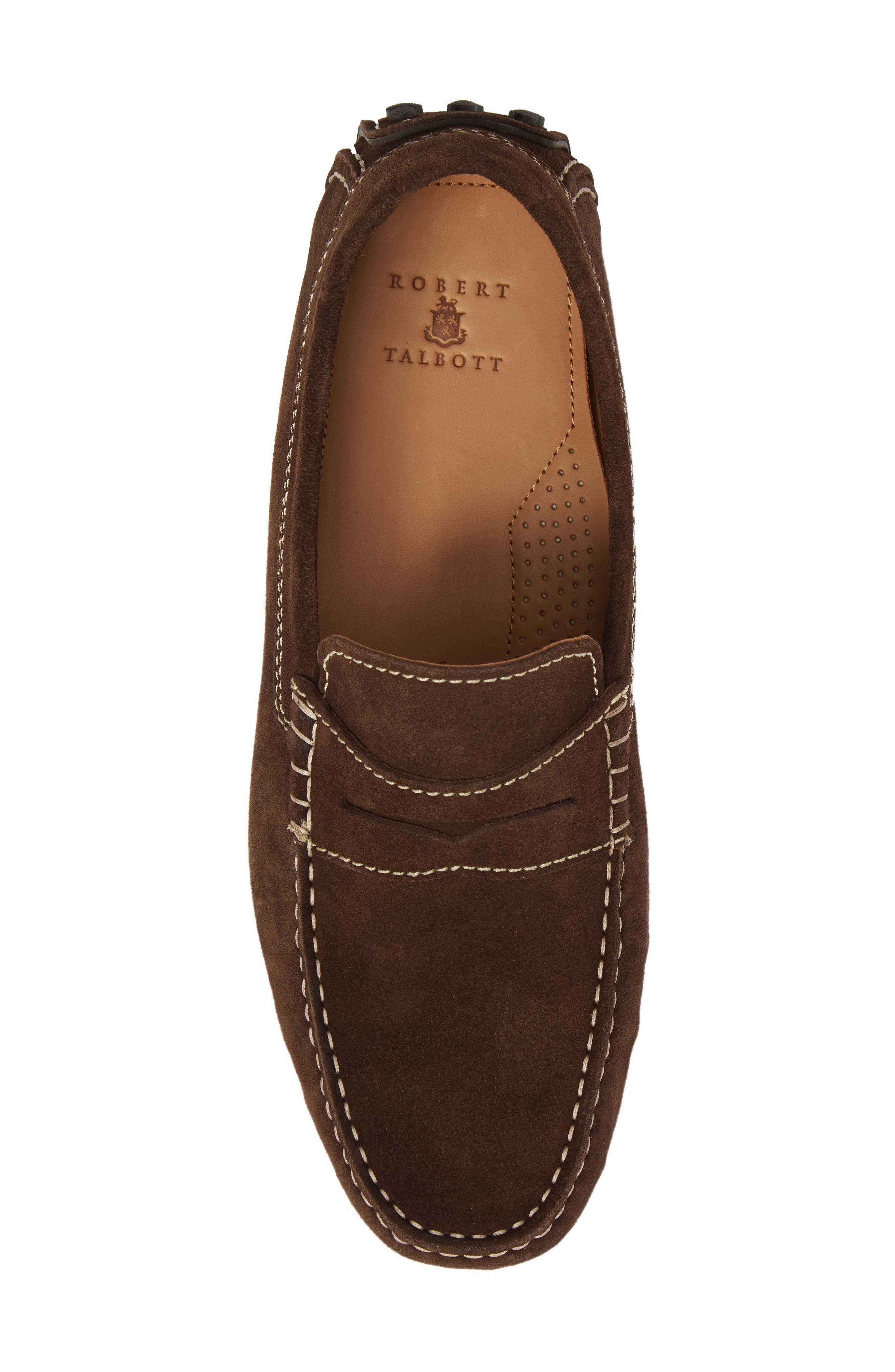 Le Mans Penny Driving Loafer,                             Alternate thumbnail 5, color,                             CHOCOLATE
