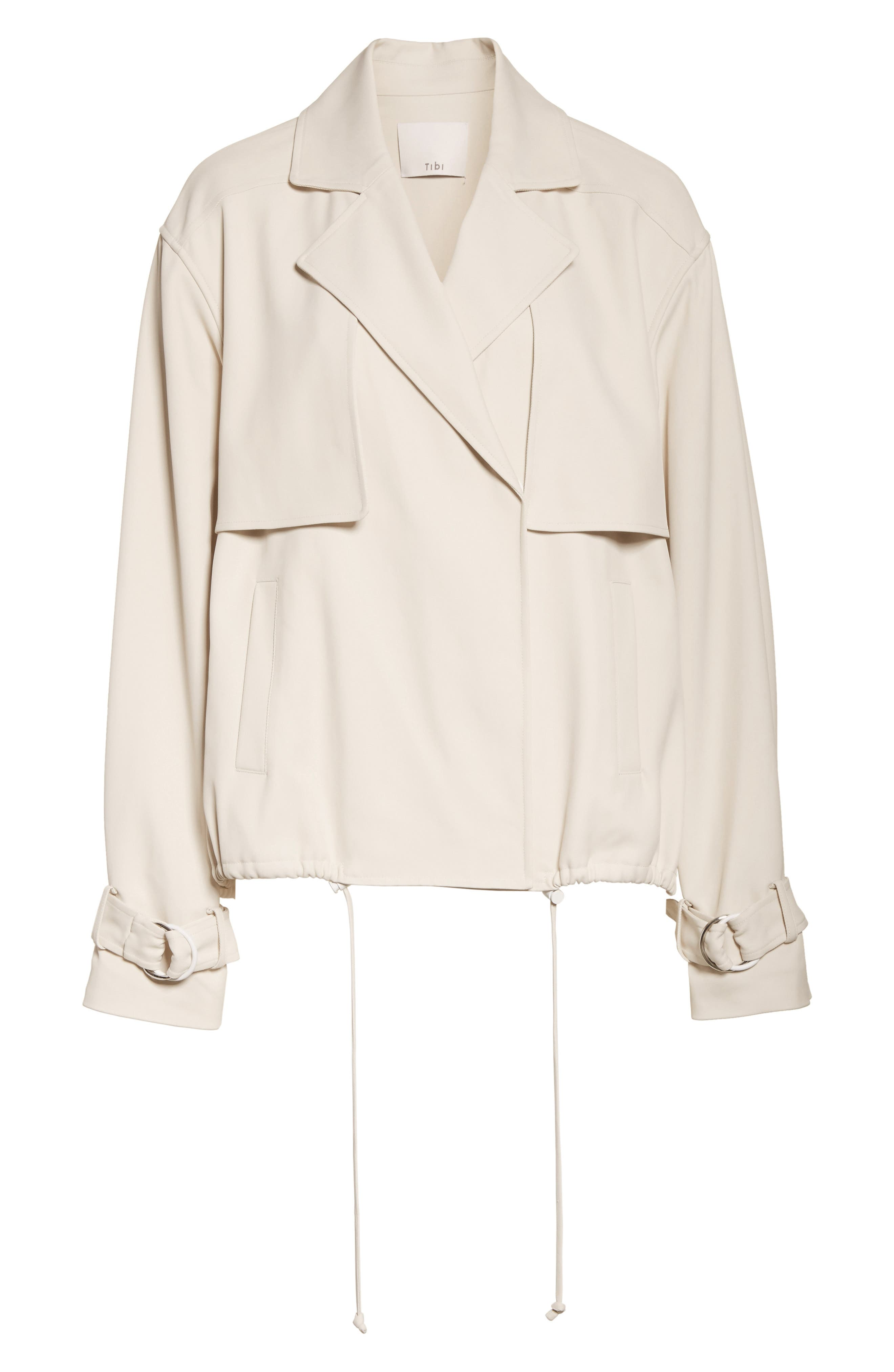 Trench Moto Jacket,                             Alternate thumbnail 5, color,