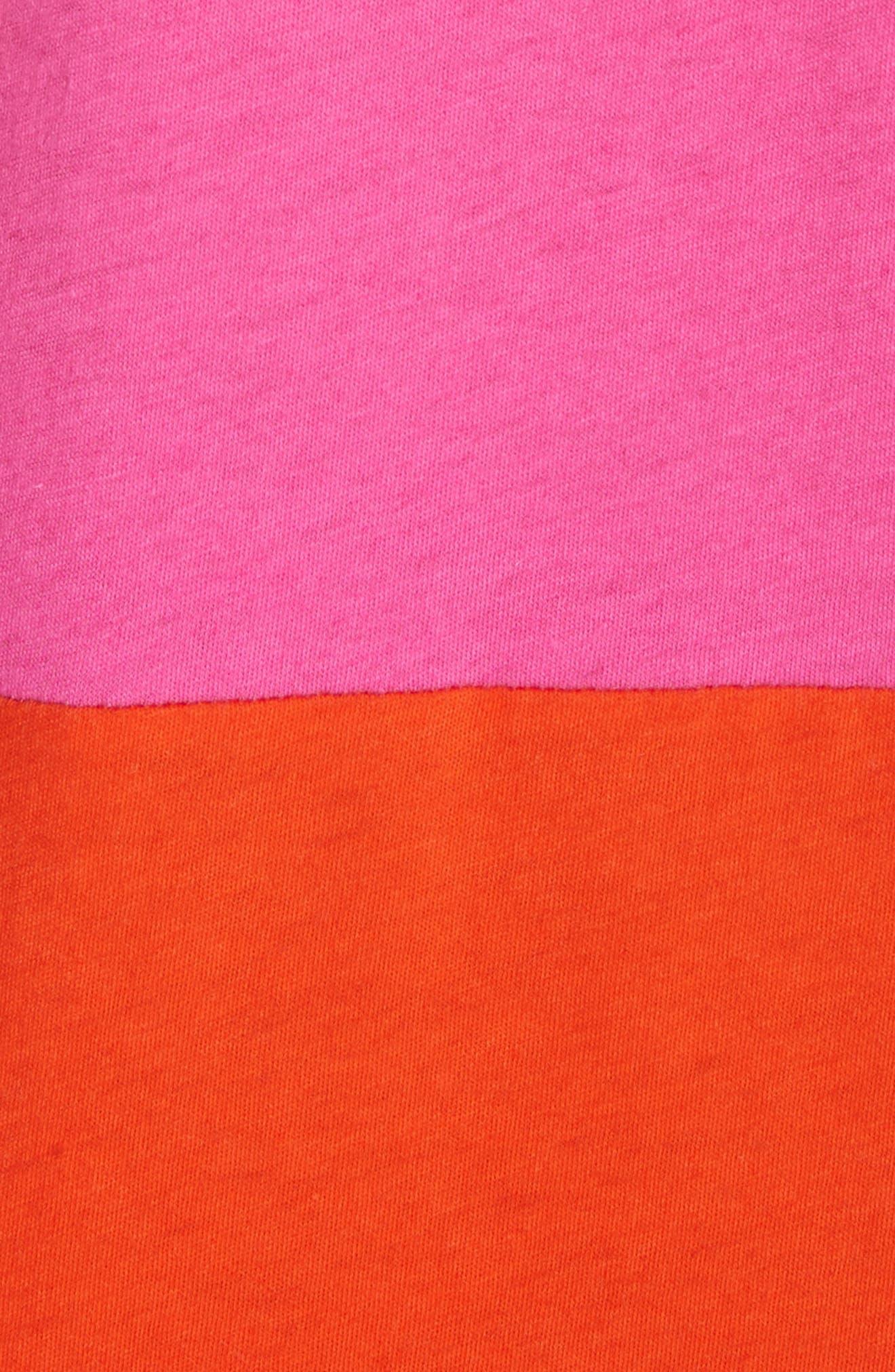 Dove Asymmetrical Stripe Dress,                             Alternate thumbnail 5, color,                             812