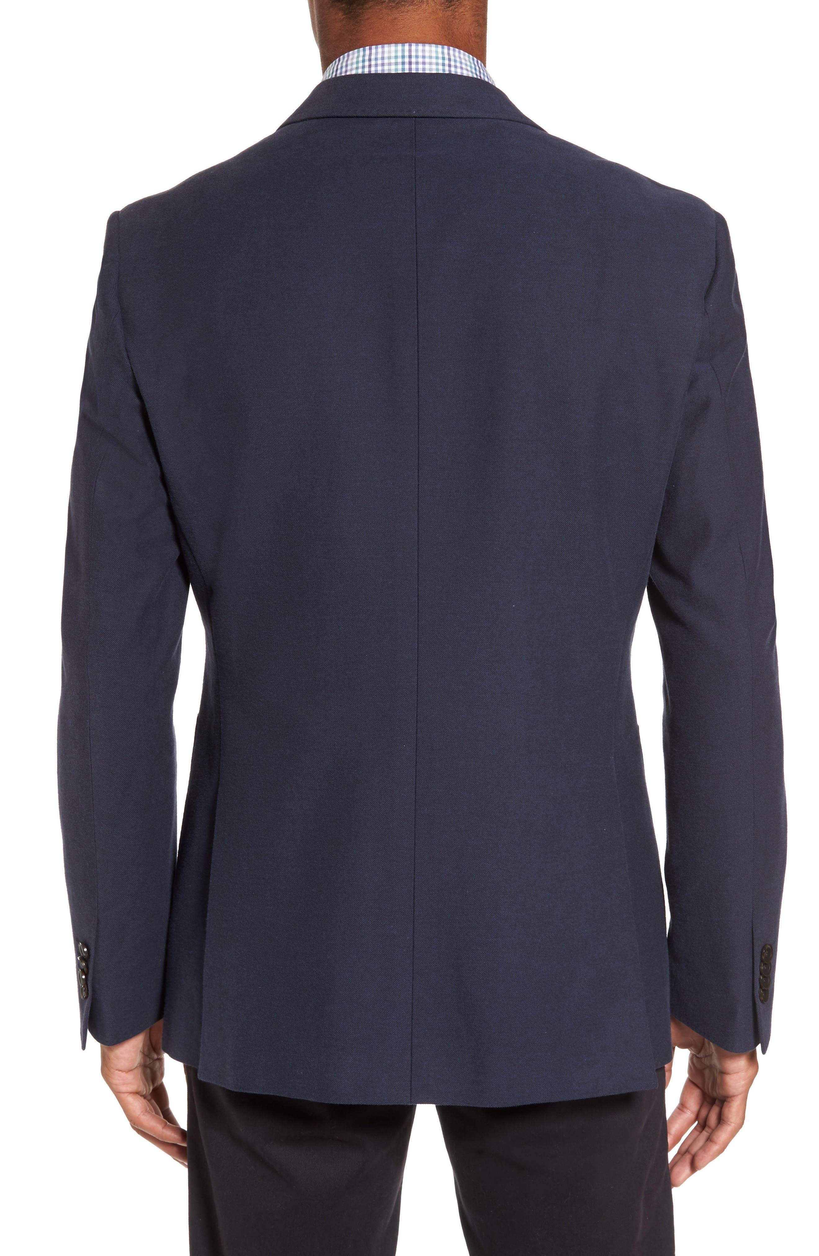 Pembroke Sports Fit Twill Jacket,                             Alternate thumbnail 2, color,                             410