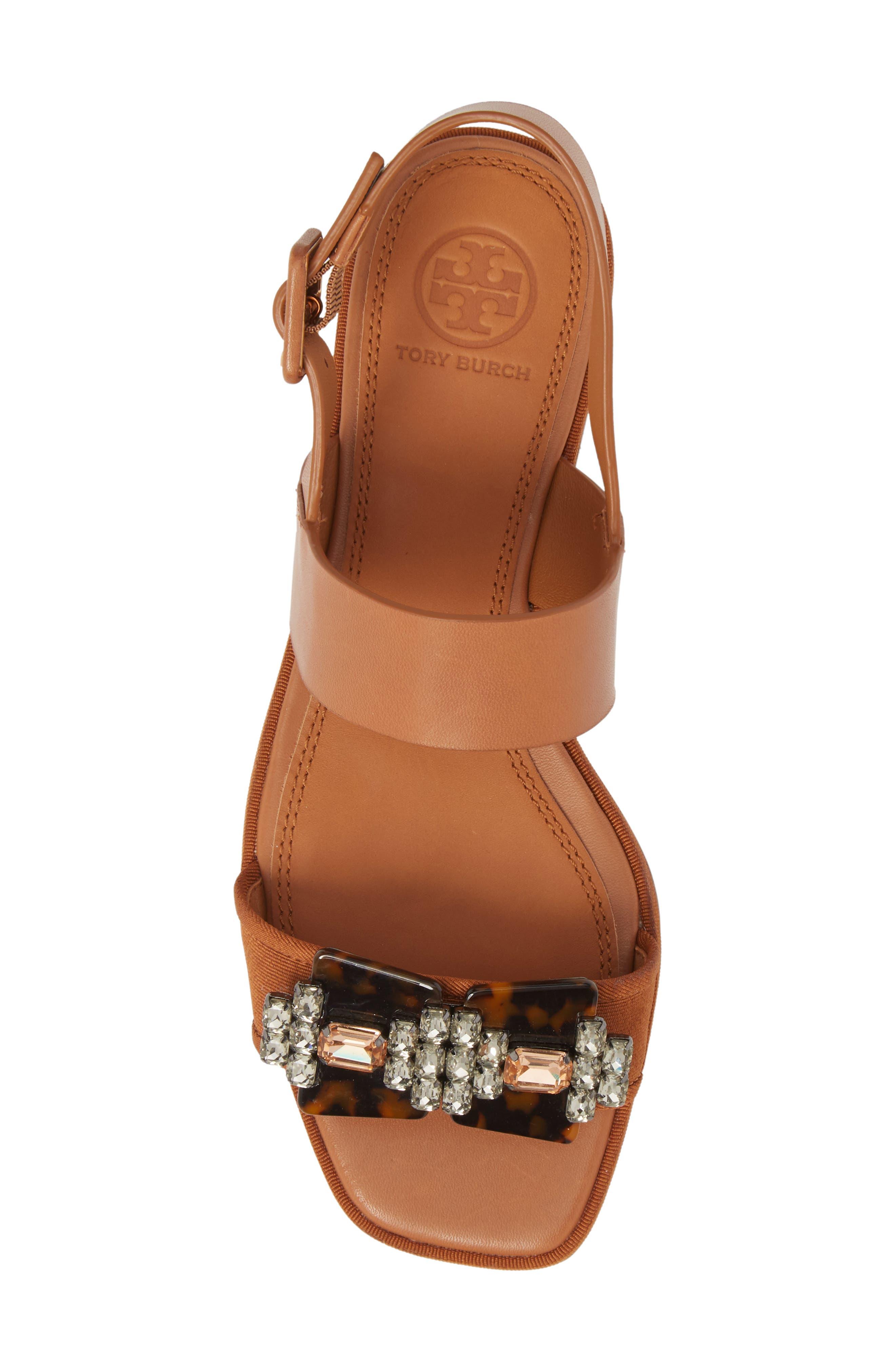 Delaney Embellished Double Strap Sandal,                             Alternate thumbnail 5, color,                             210