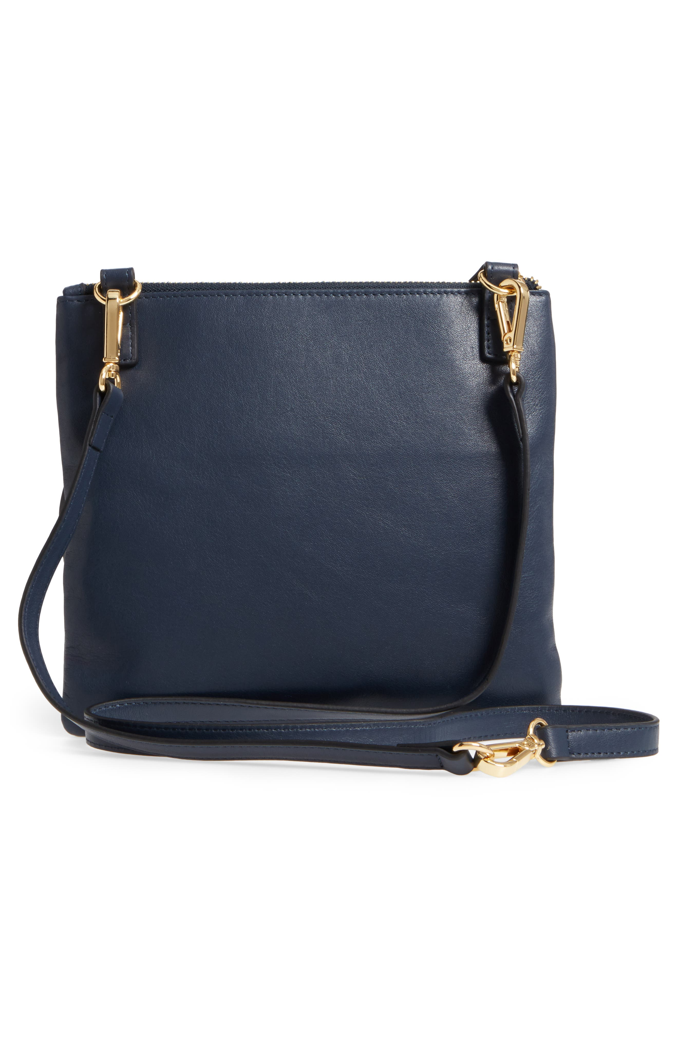 Downtown Latisha RFID Leather Crossbody,                             Alternate thumbnail 11, color,