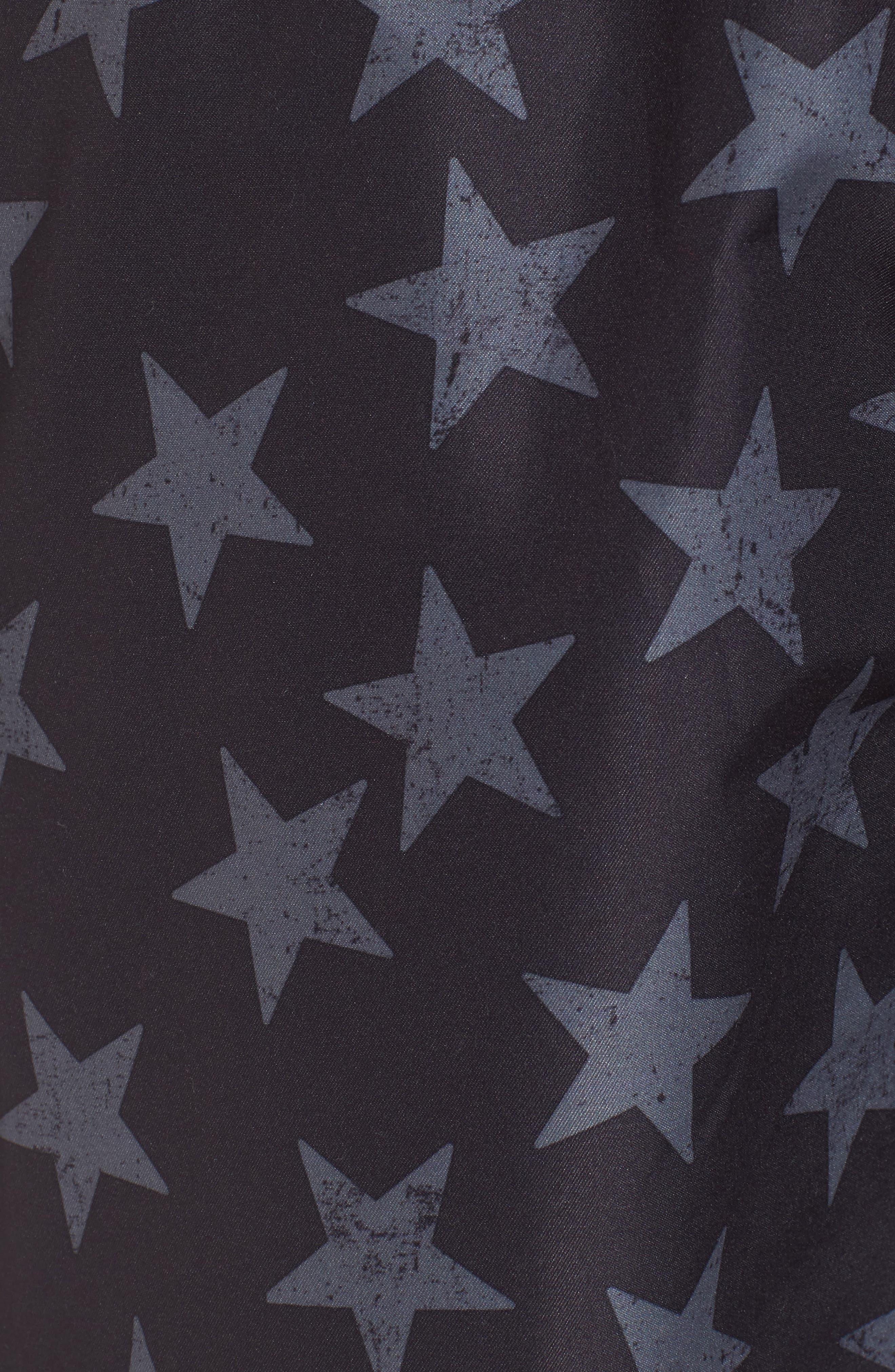San O Stars Swim Trunks,                             Alternate thumbnail 5, color,                             002