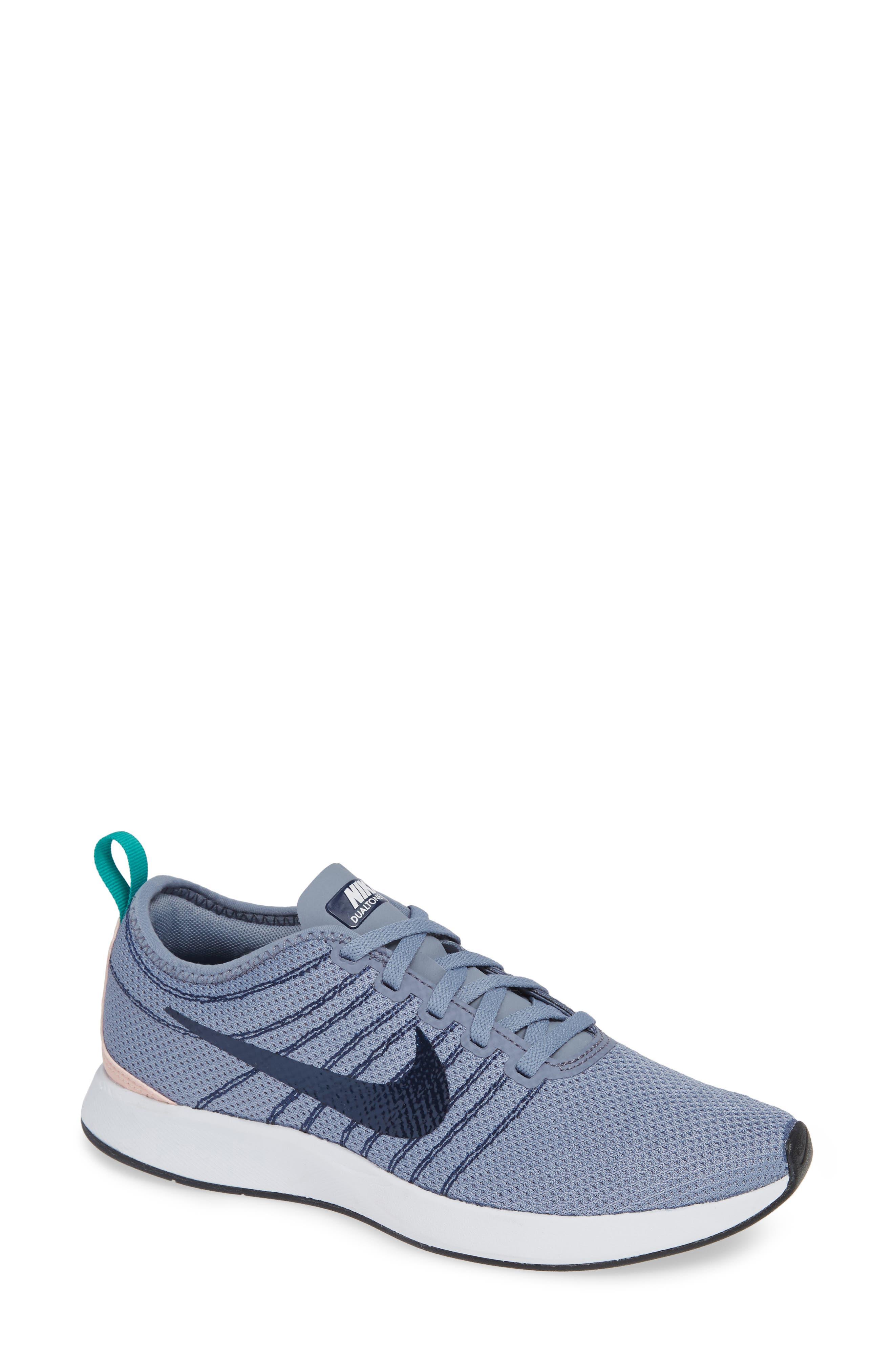 Dualtone Racer Running Shoe,                             Main thumbnail 1, color,                             ASHEN SLATE/ NAVY/ STORM PINK