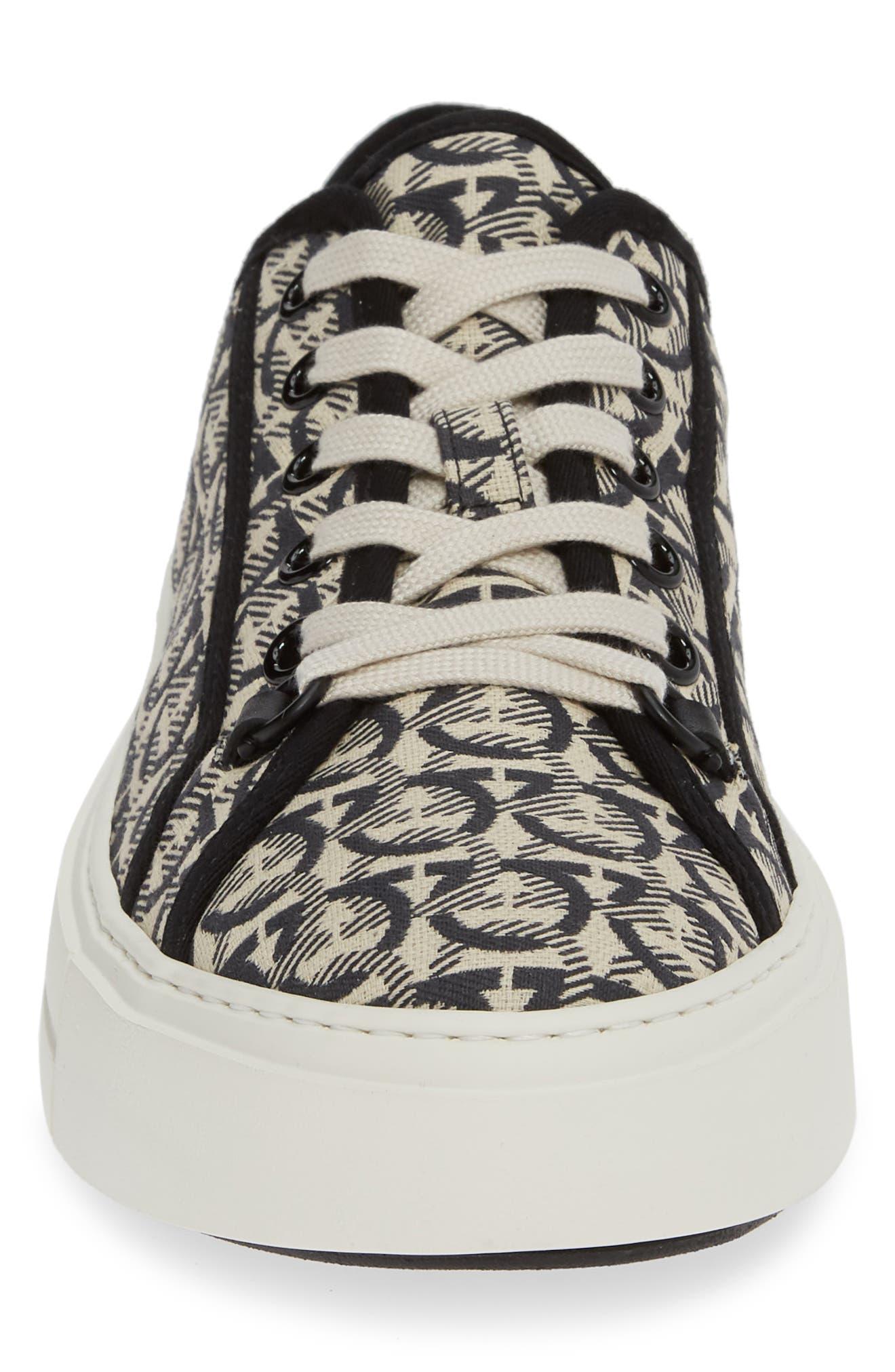Anson Sneaker,                             Alternate thumbnail 4, color,                             BEIGE/NERO