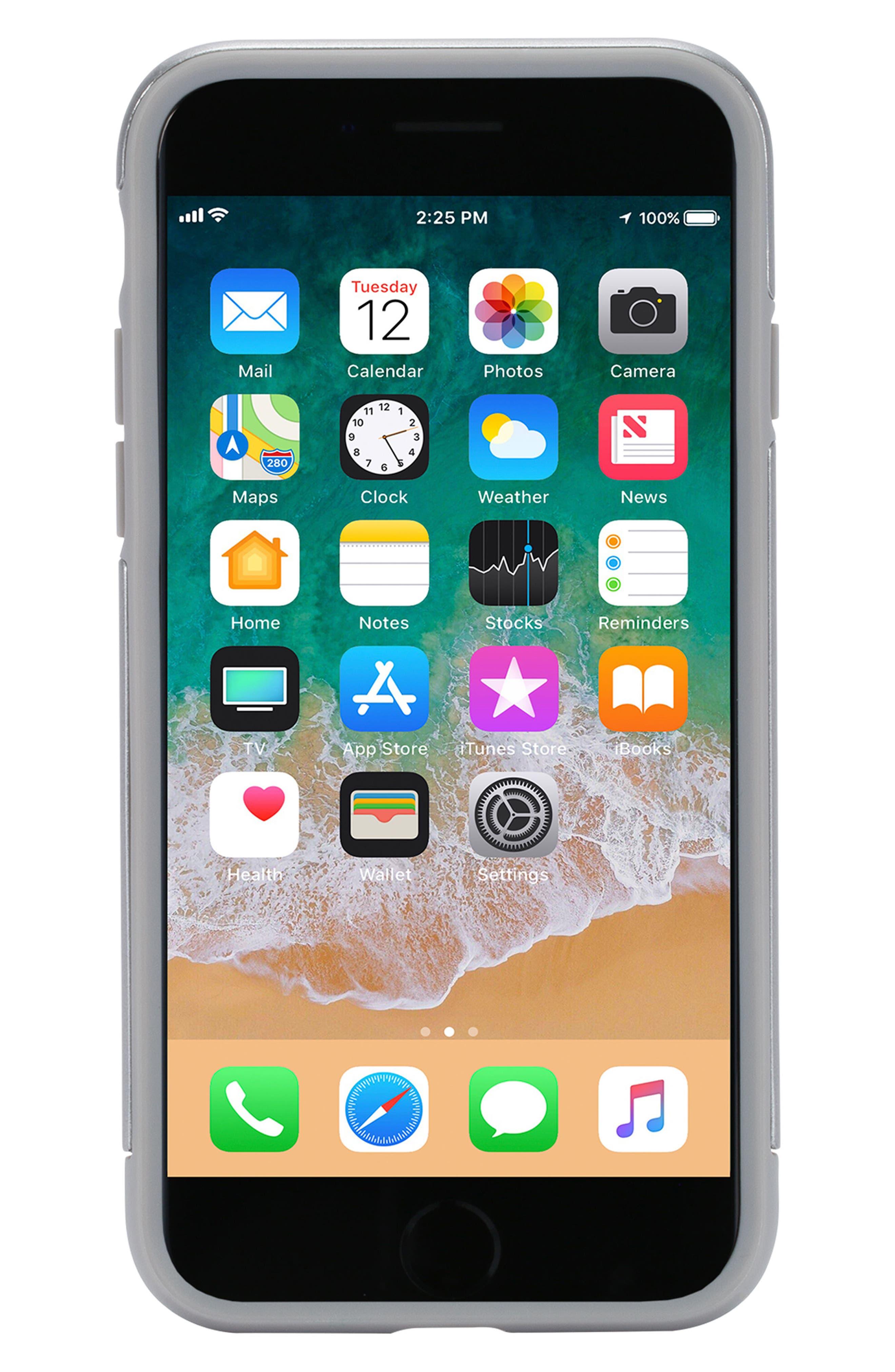 Dual Snap iPhone 7/8 Case,                             Alternate thumbnail 5, color,