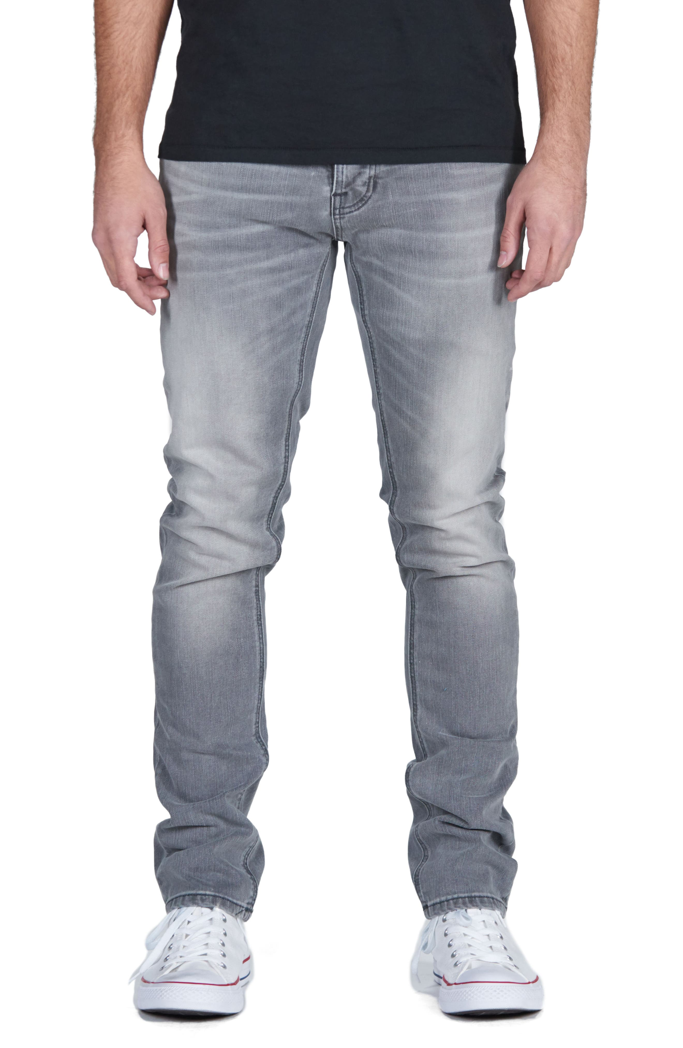 Lean Dean Slouchy Skinny Fit Jeans,                             Main thumbnail 1, color,