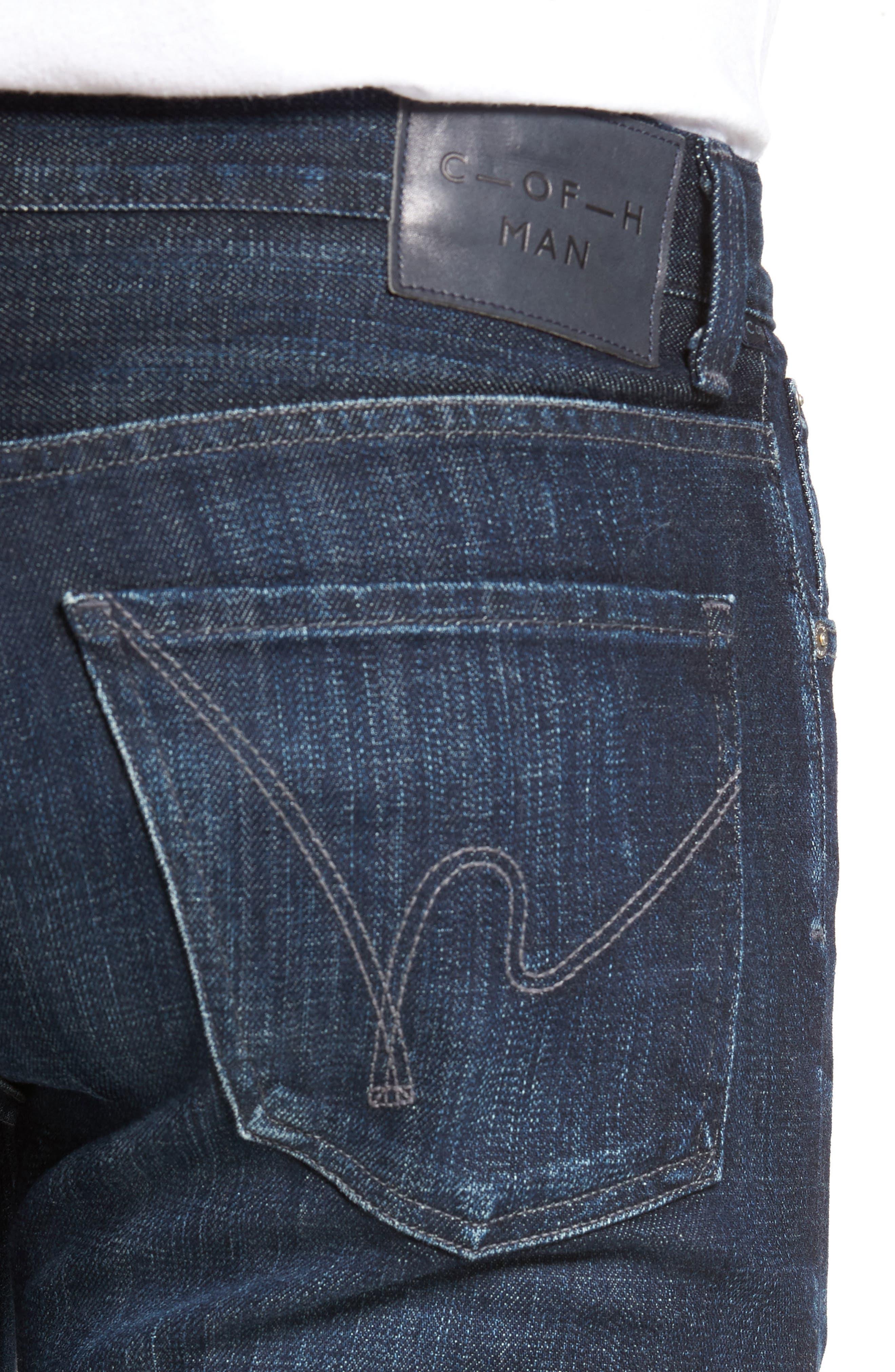 Sid Straight Leg Jeans,                             Alternate thumbnail 4, color,