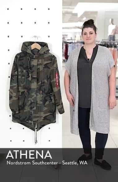 Meri Fishtail Hem Field Jacket, sales video thumbnail