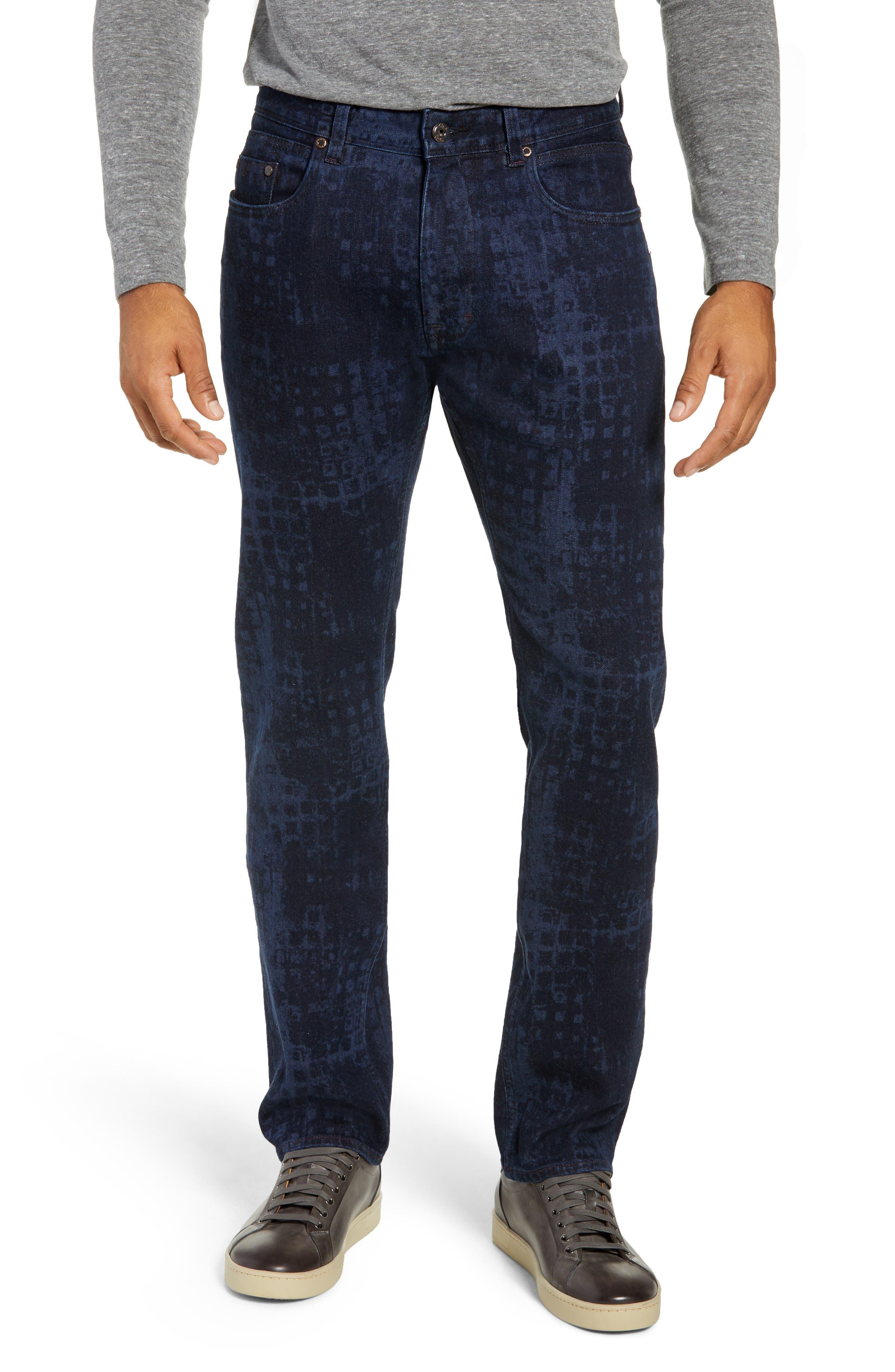 Chilcott Classic Fit Jeans,                             Main thumbnail 1, color,                             INDIGO