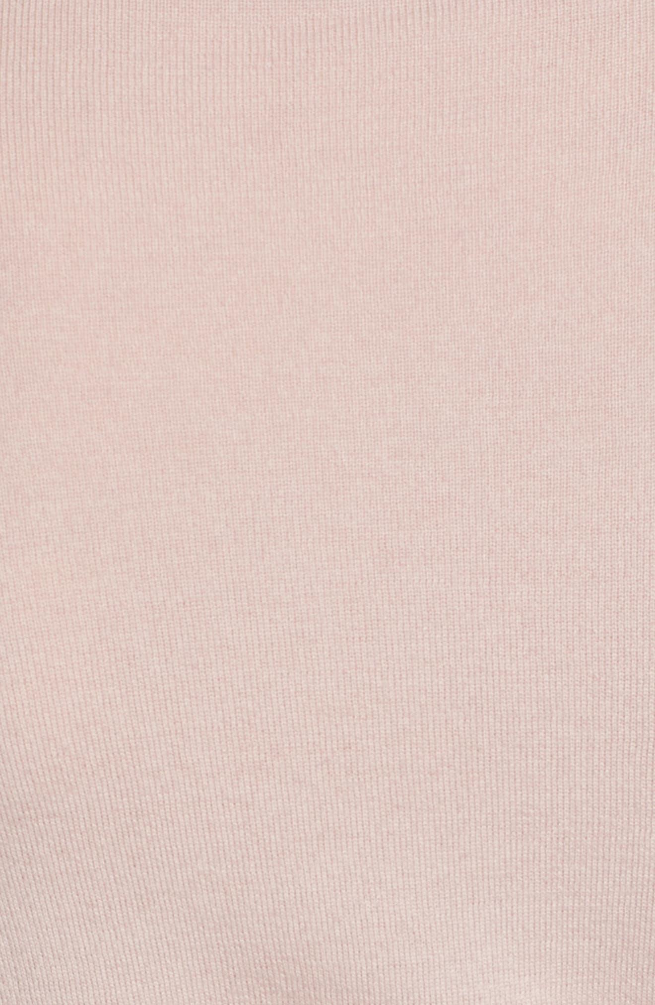 Split Cuff Merino Wool Turtleneck Sweater,                             Alternate thumbnail 15, color,