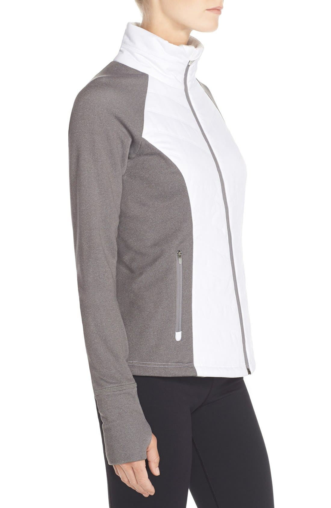 Zelfusion Reflective Quilted Jacket,                             Alternate thumbnail 58, color,