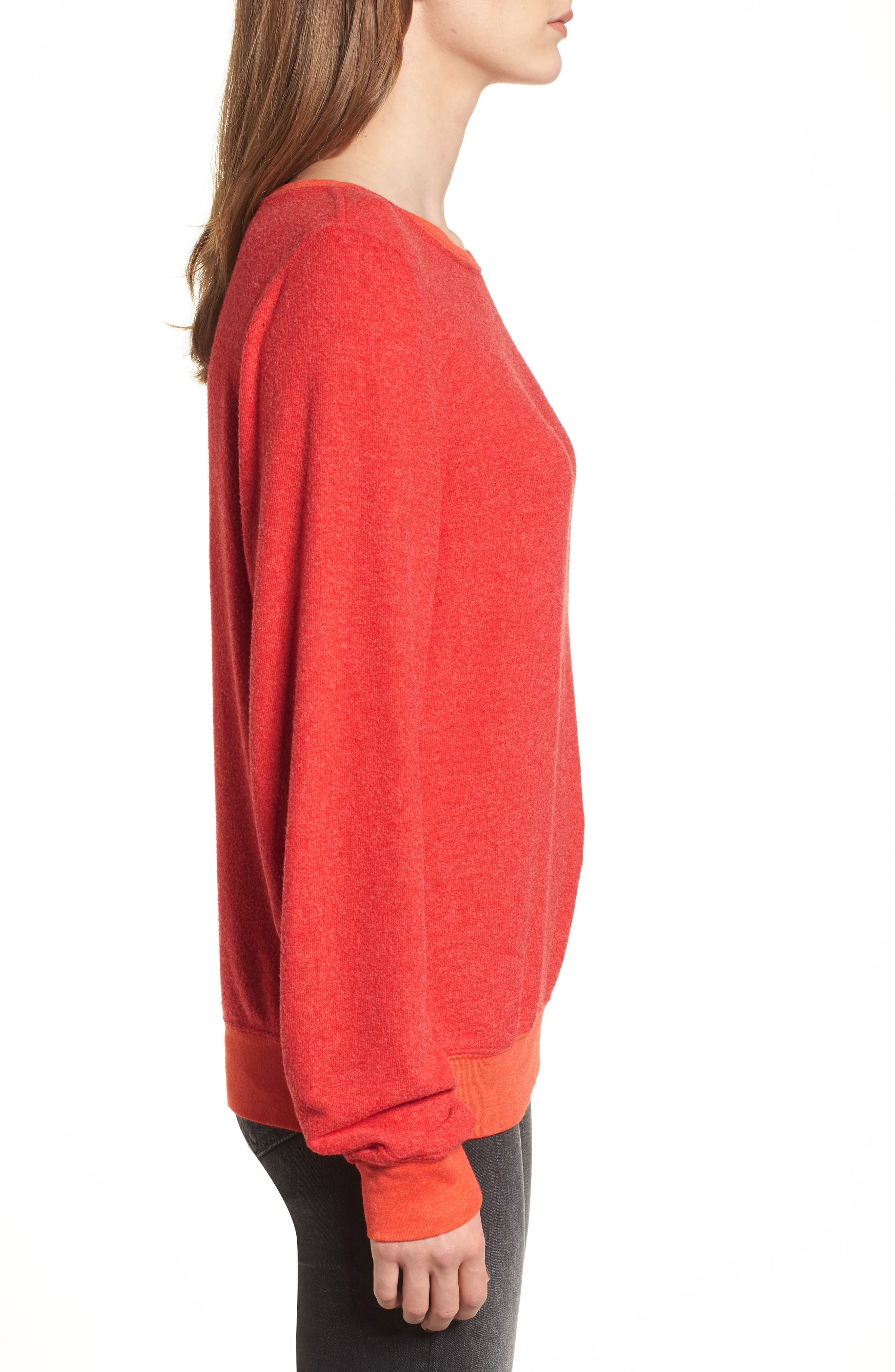 'Baggy Beach Jumper' Pullover,                             Alternate thumbnail 140, color,