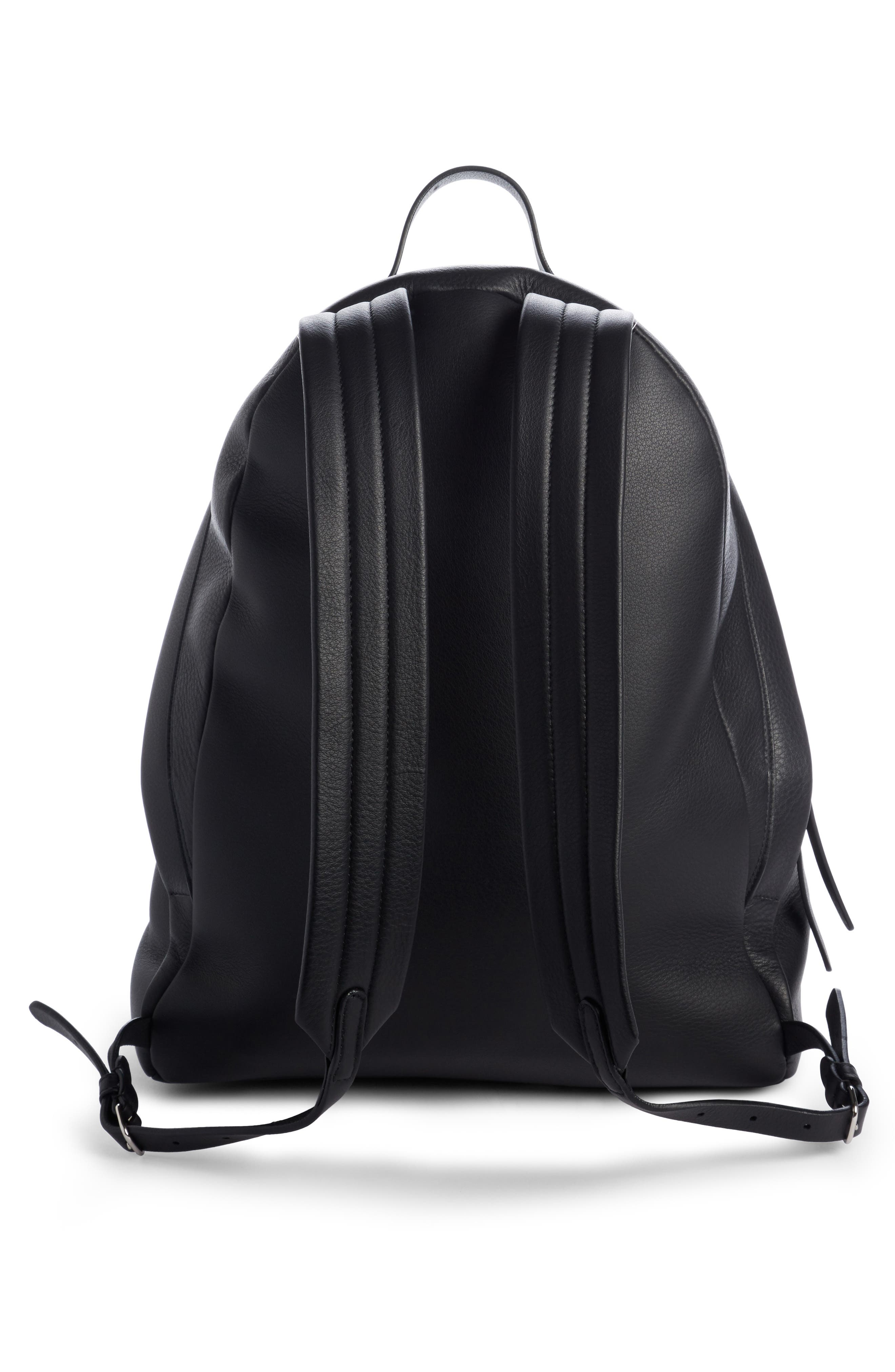 Everyday Calfskin Backpack,                             Alternate thumbnail 2, color,                             001