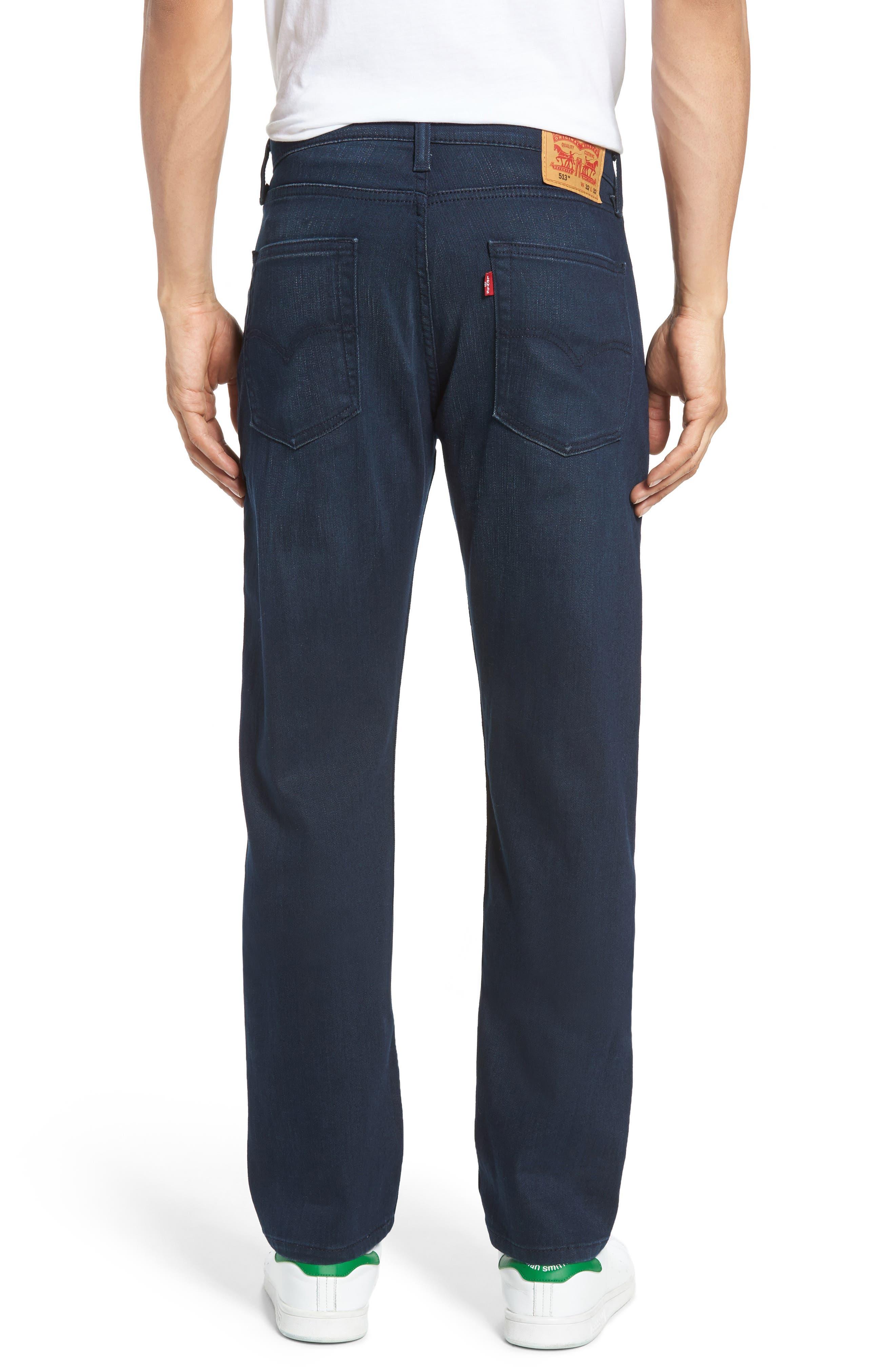 513<sup>™</sup> Slim Straight Leg Jeans,                             Alternate thumbnail 2, color,