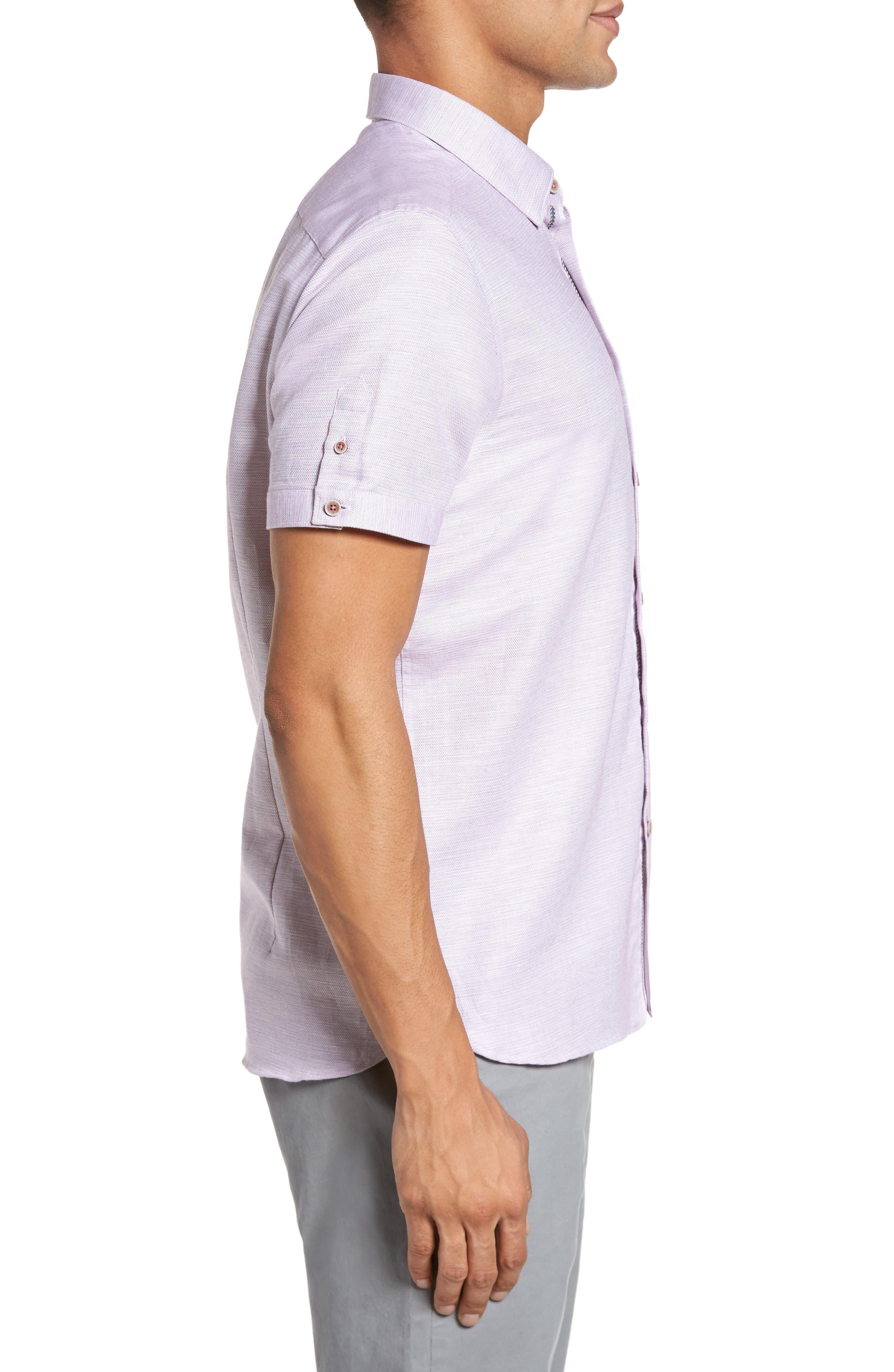 Slim Fit Sport Shirt,                             Alternate thumbnail 15, color,