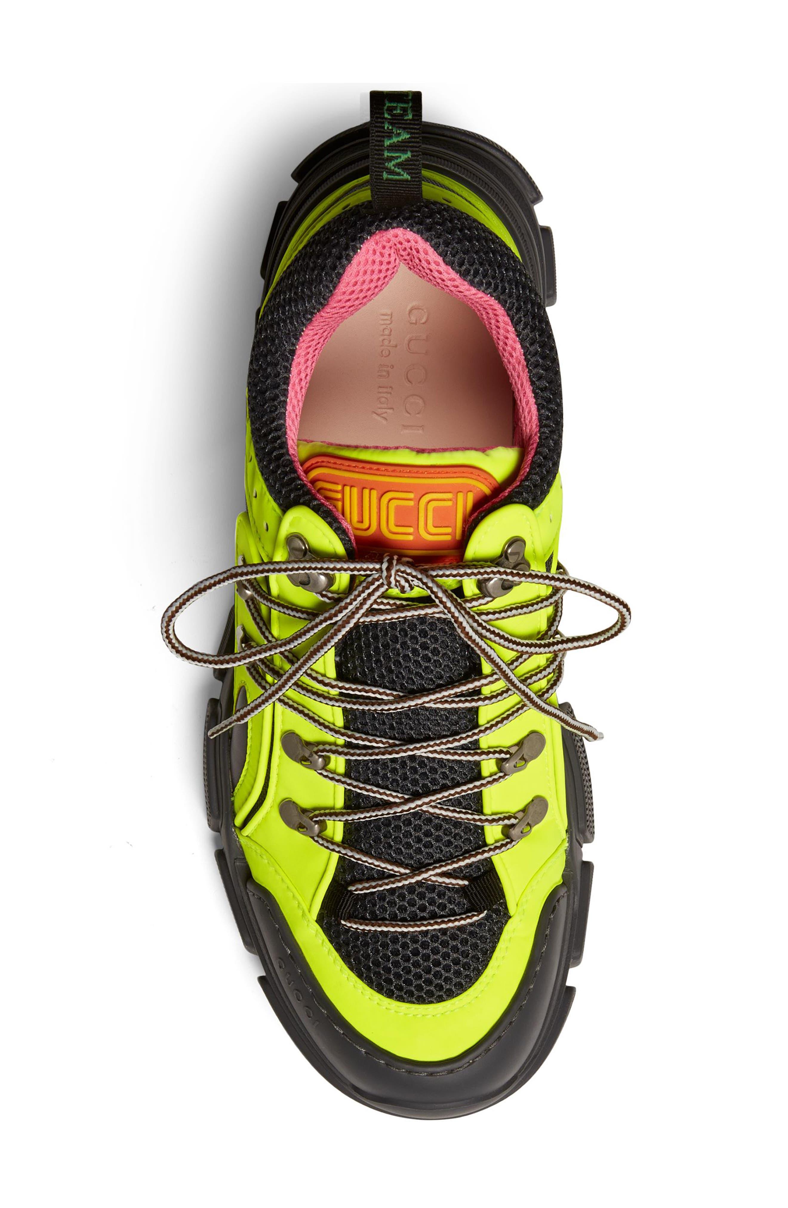 Flashtrek Sneaker,                             Alternate thumbnail 4, color,                             YELLOW