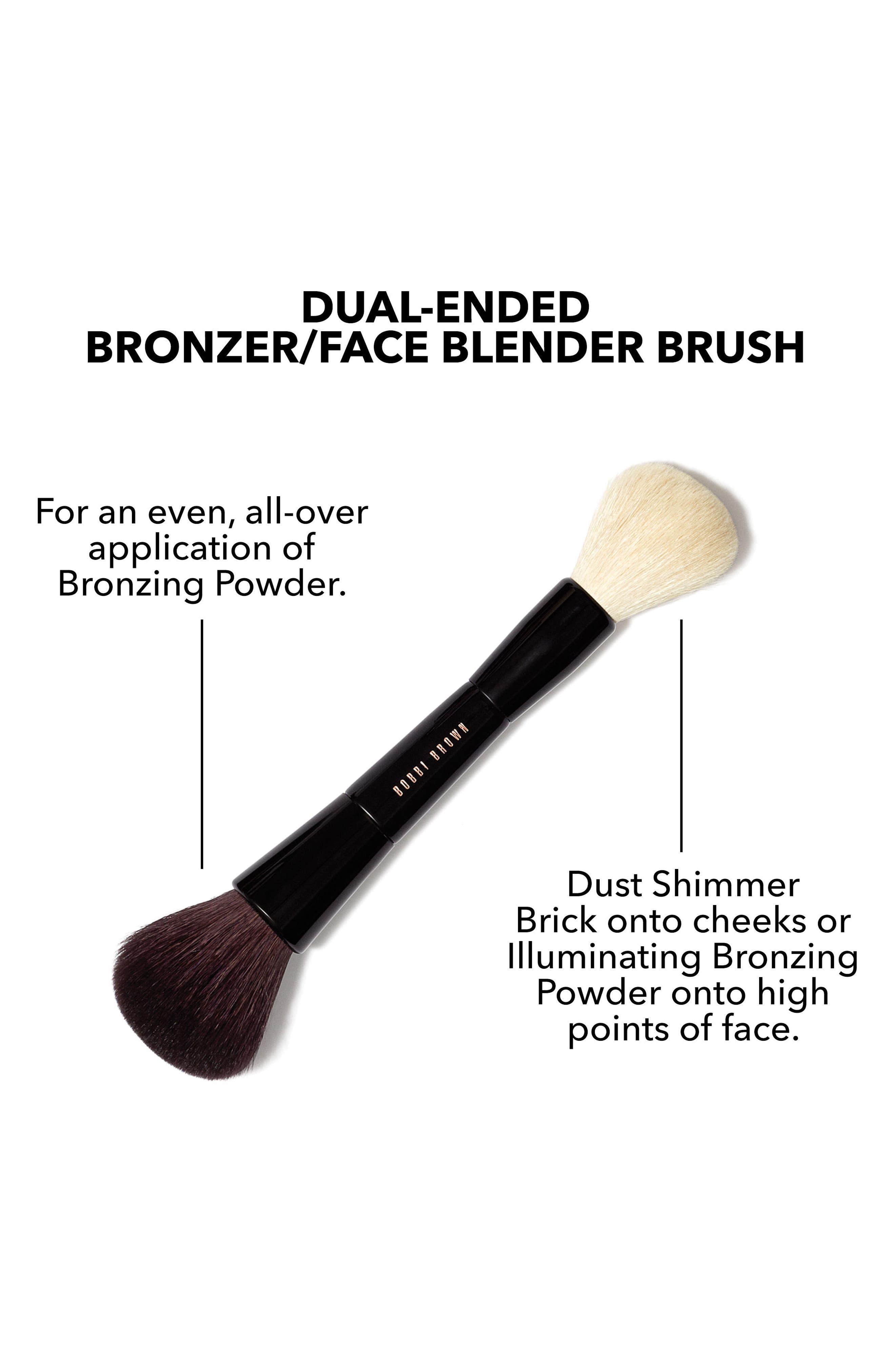 Dual Bronzer/Face Blender Brush,                             Alternate thumbnail 4, color,