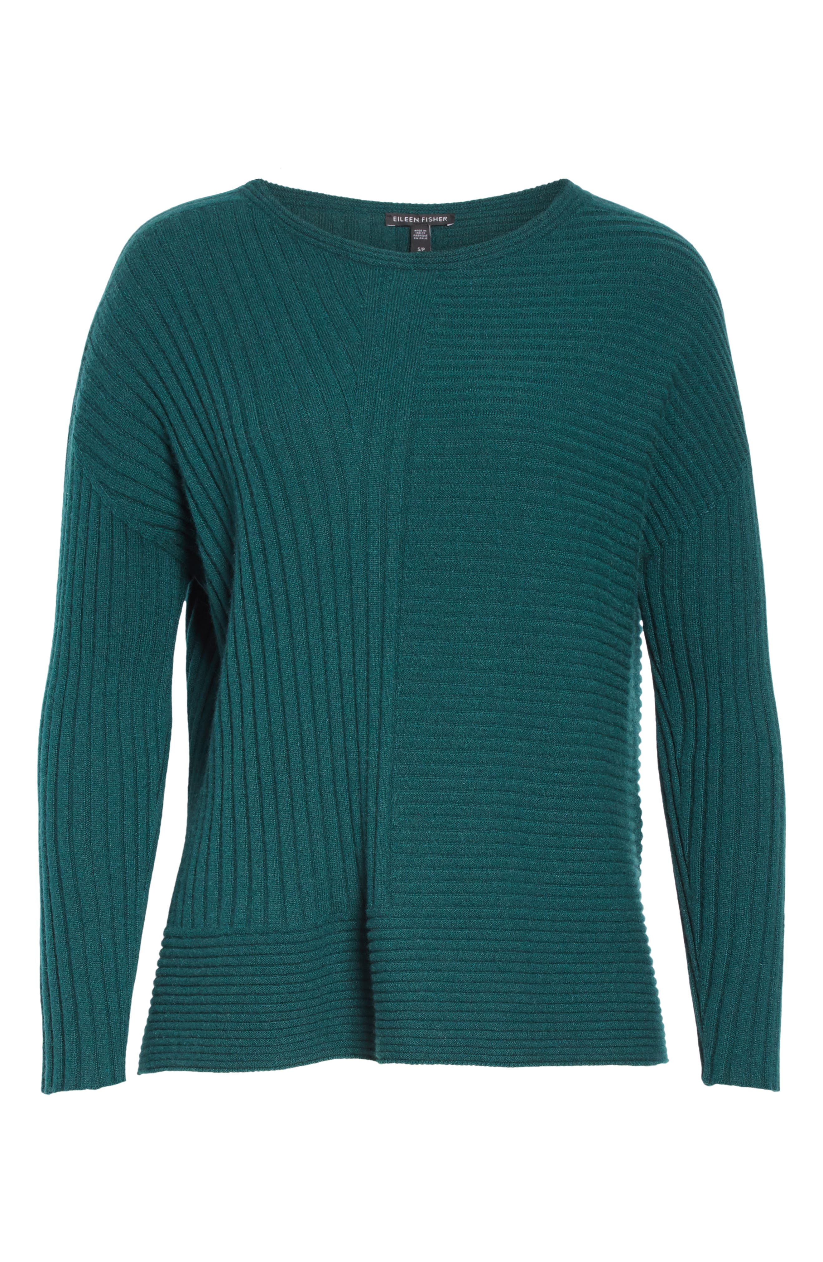 Ribbed Cashmere Sweater,                             Alternate thumbnail 6, color,                             303