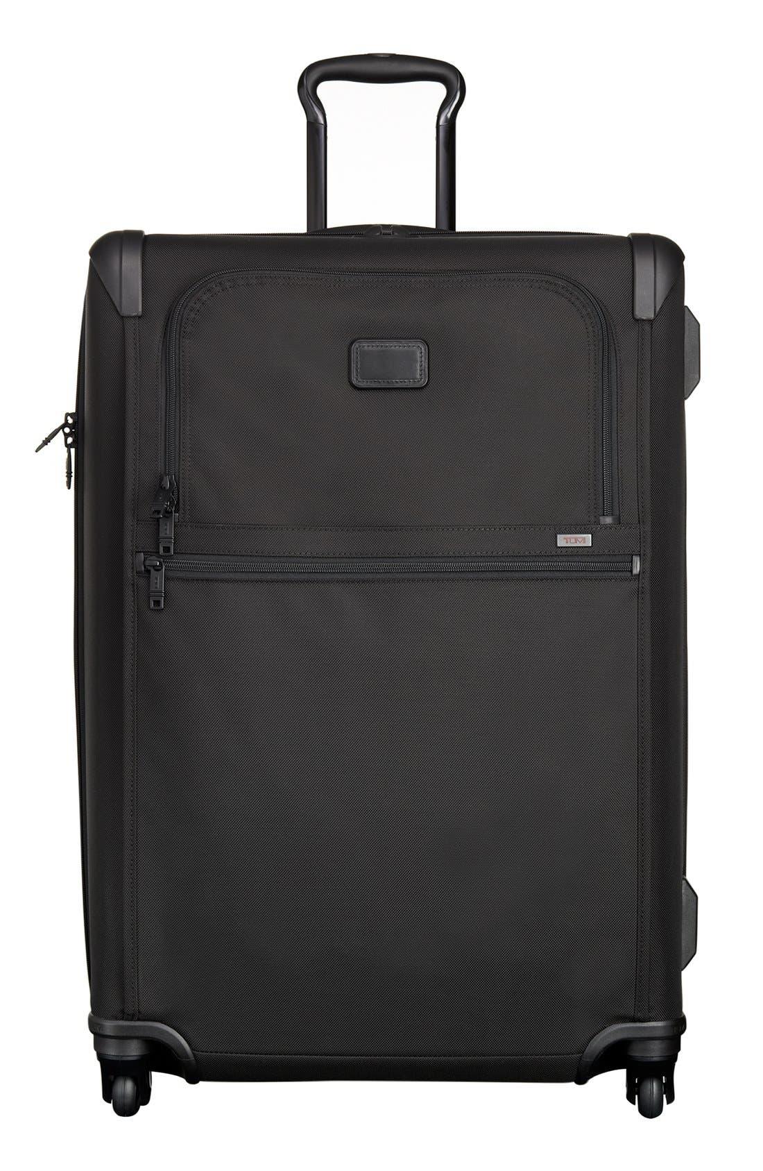 Alpha 2 Medium Trip 29-Inch Expandable Four-Wheel Packing Case,                             Main thumbnail 1, color,                             BLACK