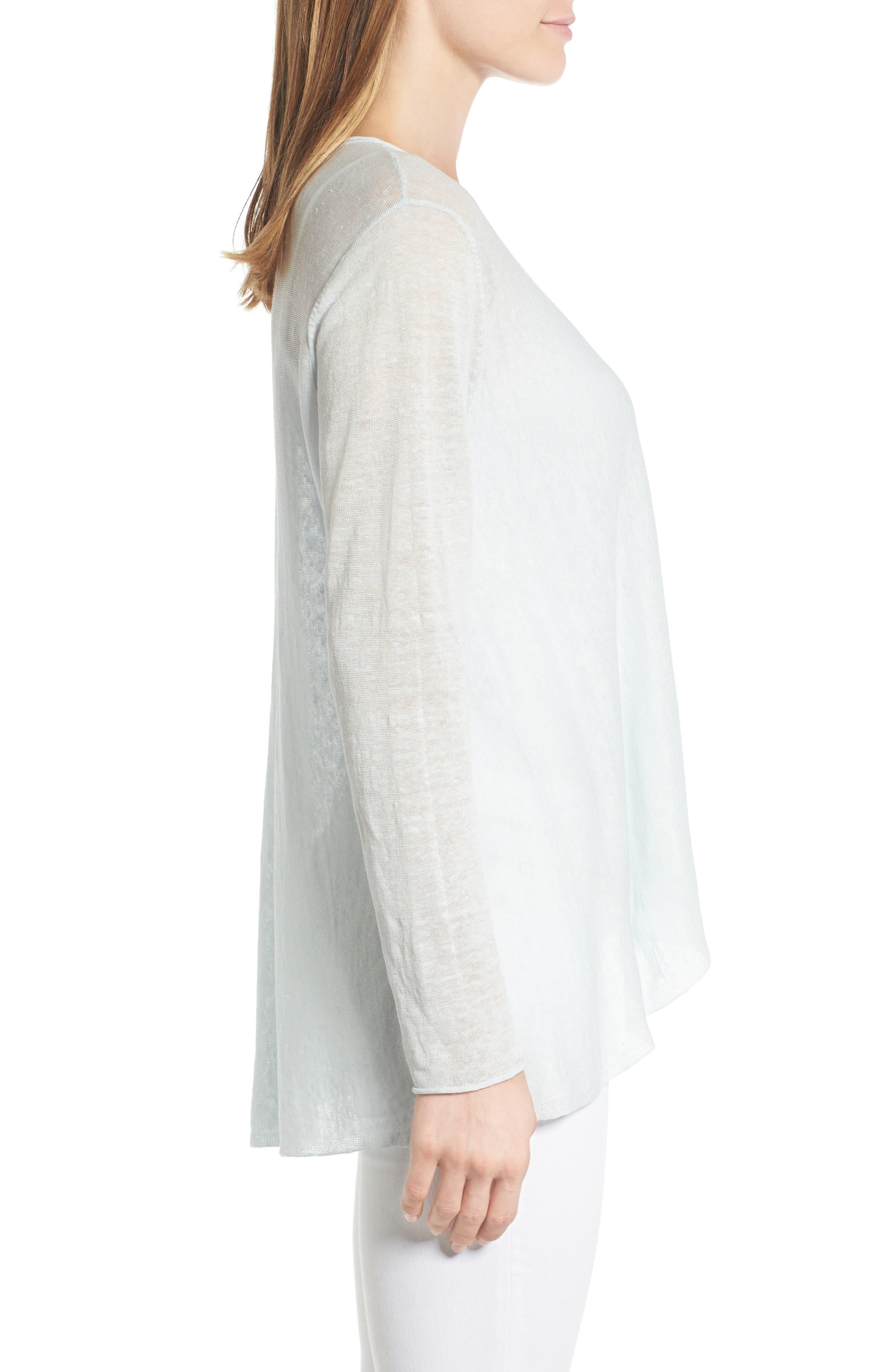 Organic Linen Blend Swing Sweater,                             Alternate thumbnail 27, color,